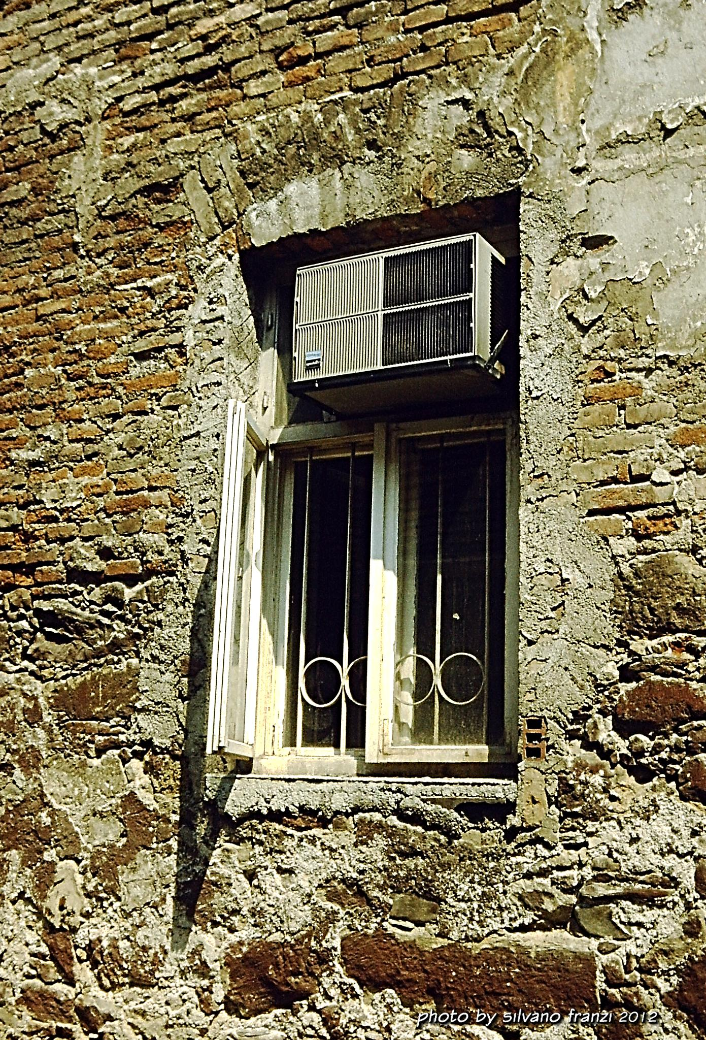 Window in Montenegro by SILVANO FRANZI