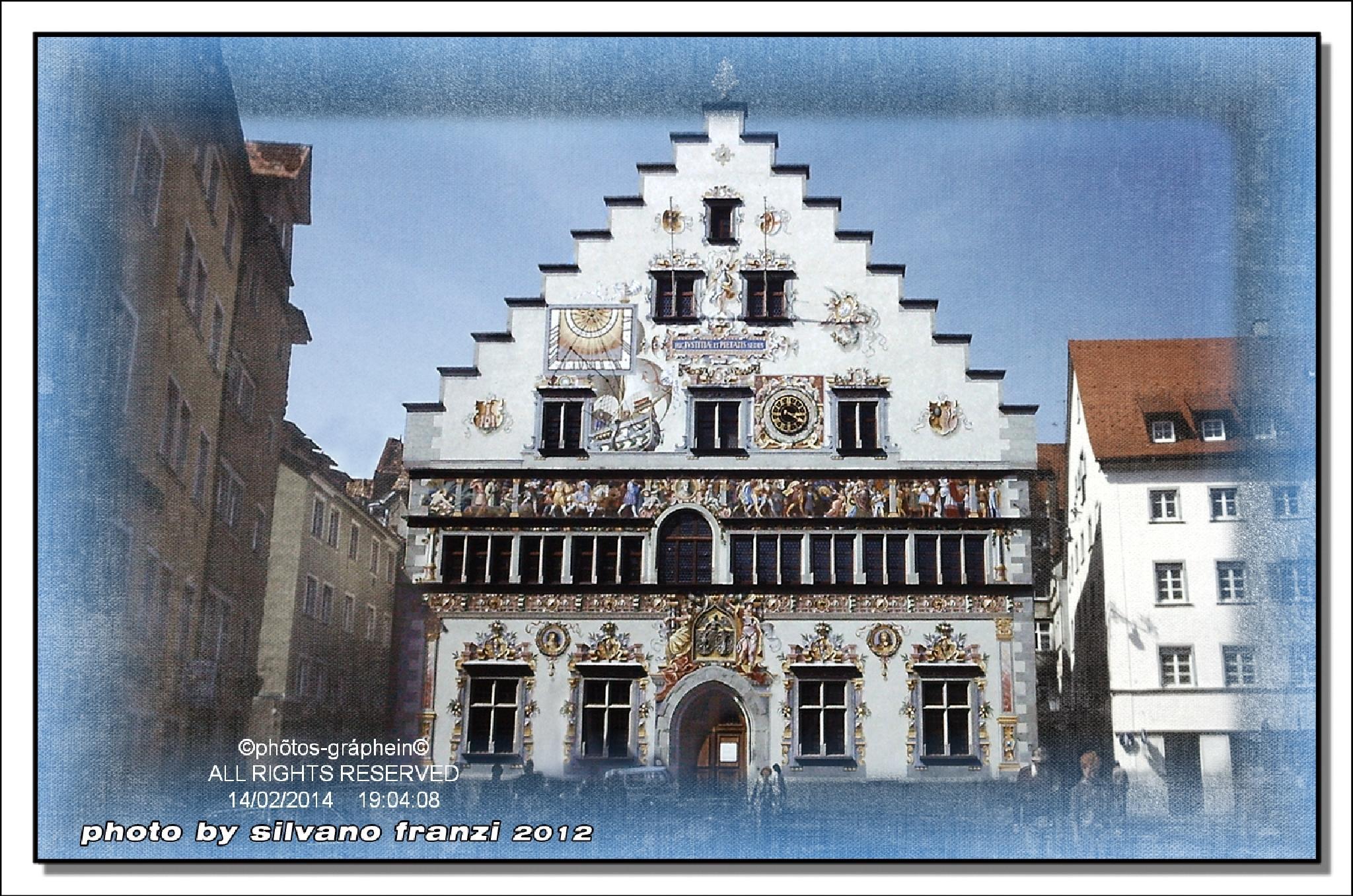 """Lindau"""" Rathaus"""" Germany by SILVANO FRANZI"""