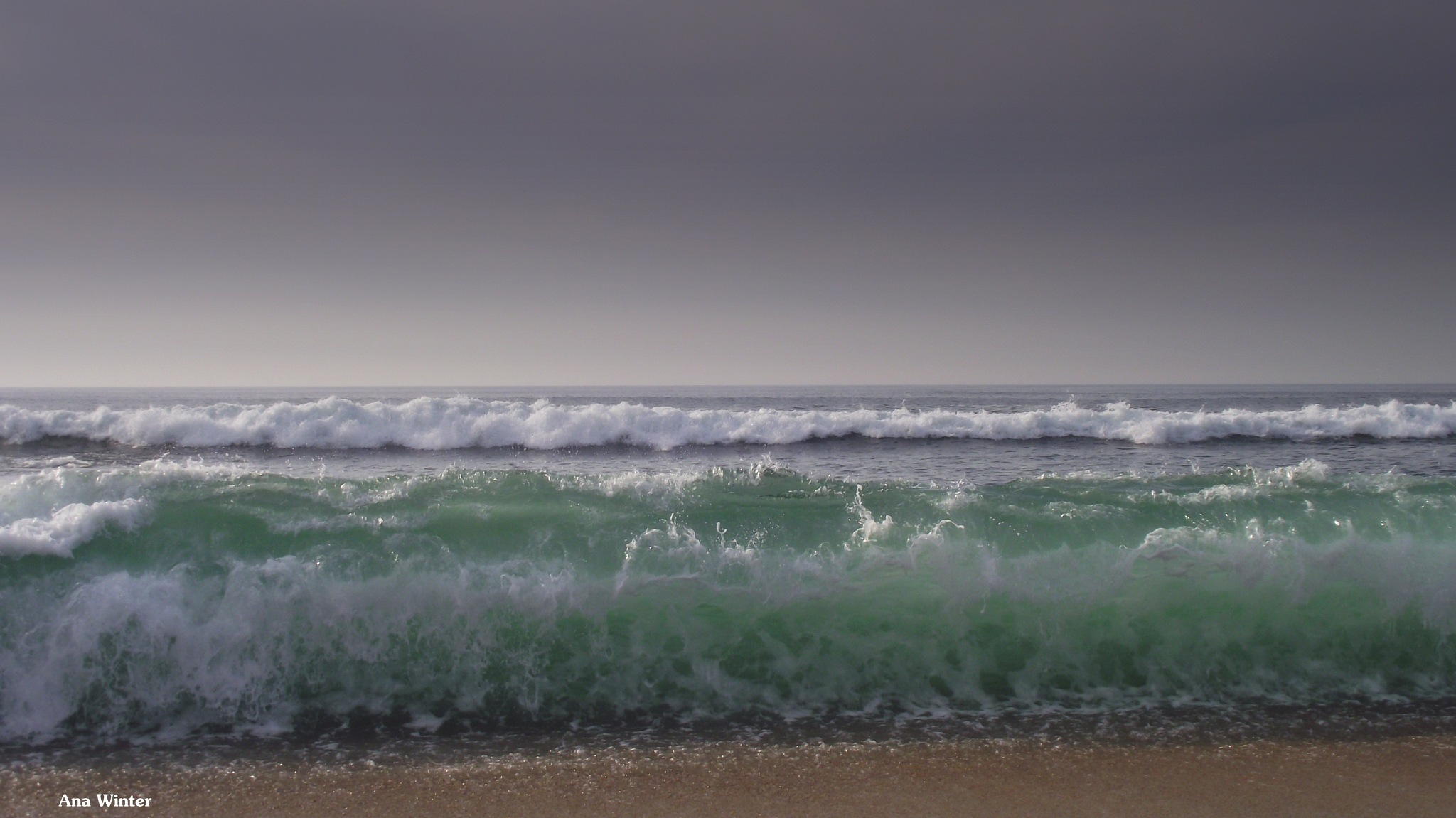 Ocean colour by Ana Winter