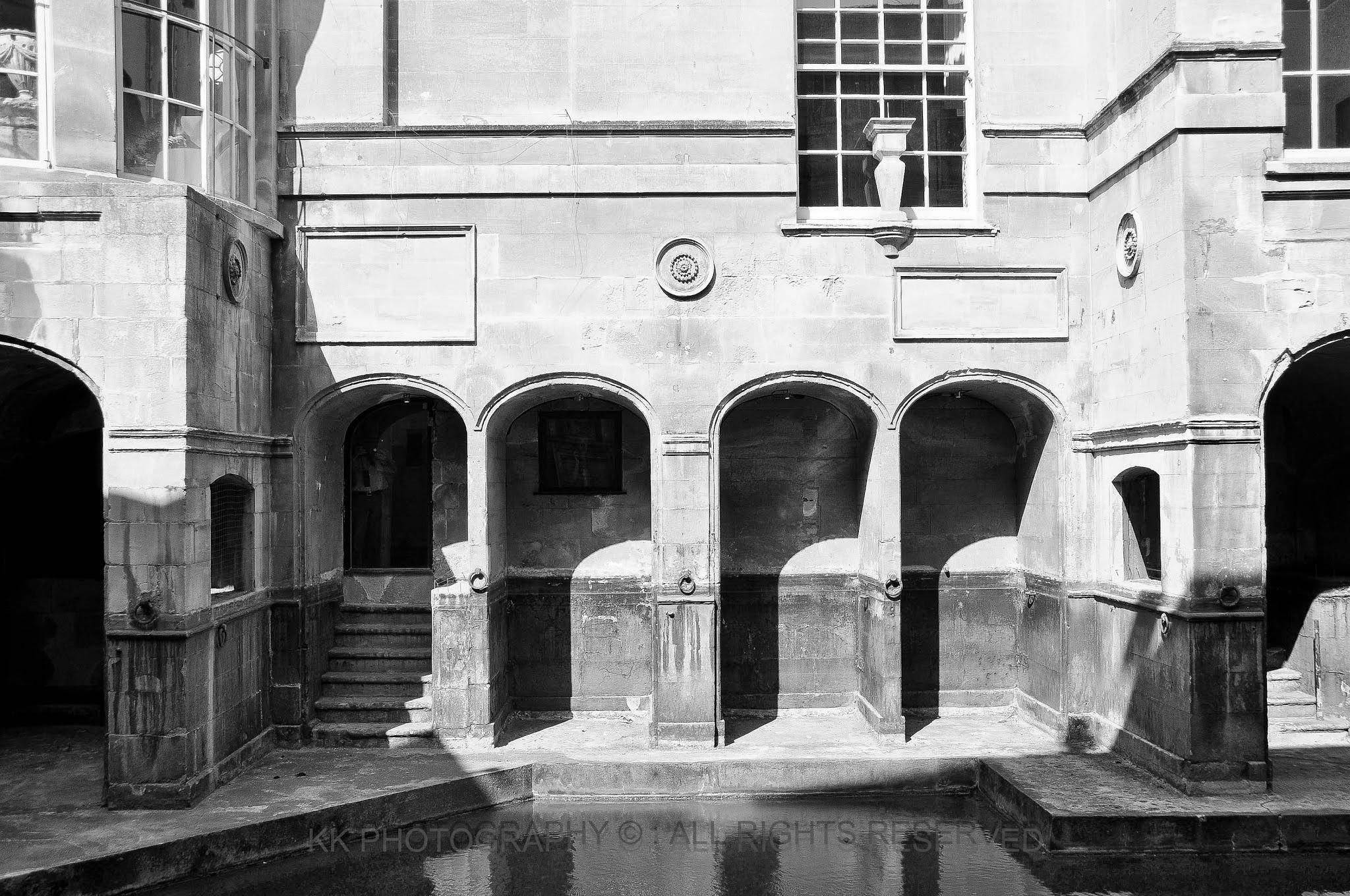 Roman baths  by kkphotography4