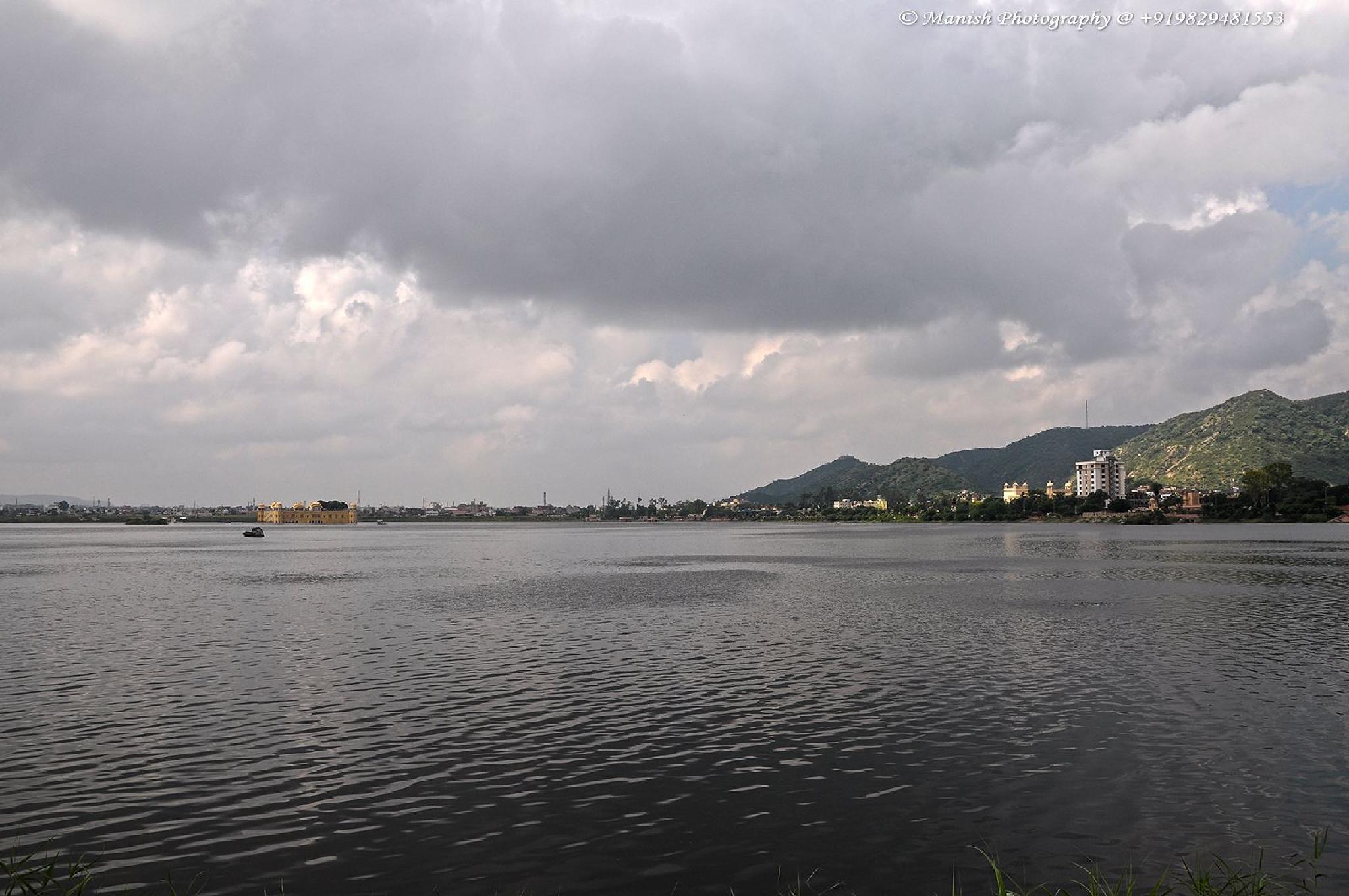 Photo in Landscape #man sagar lake #pink city #jaipur #india #landscape