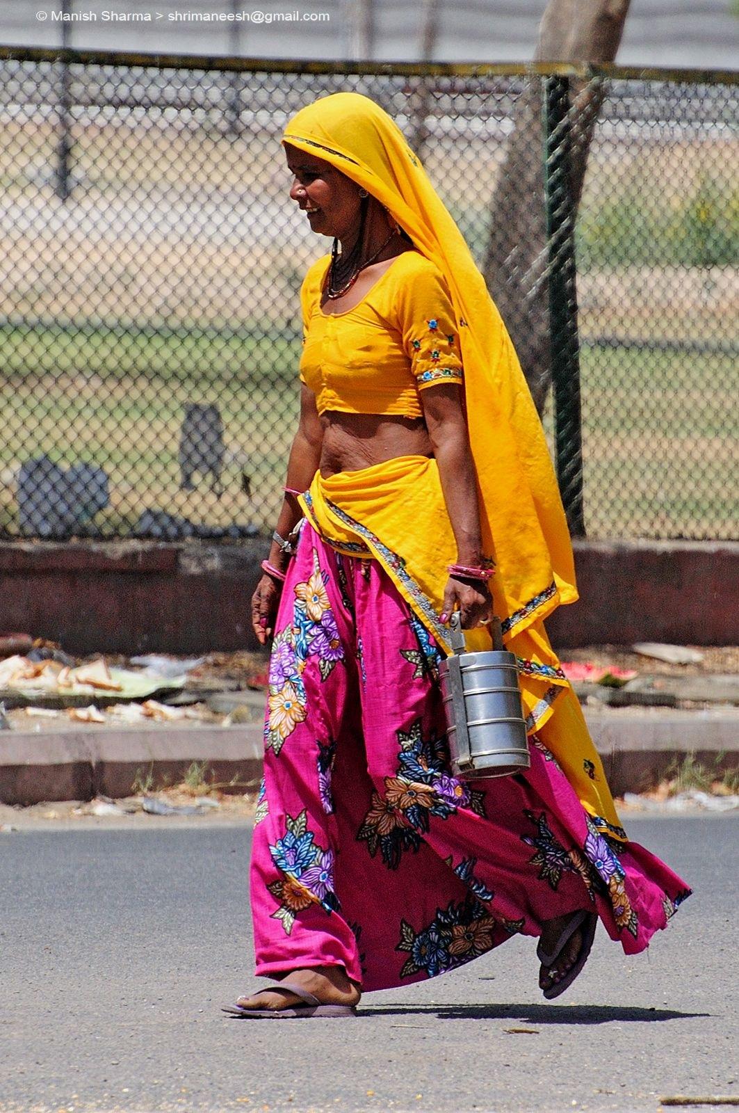 Rural life in India by Maneesh Sharma