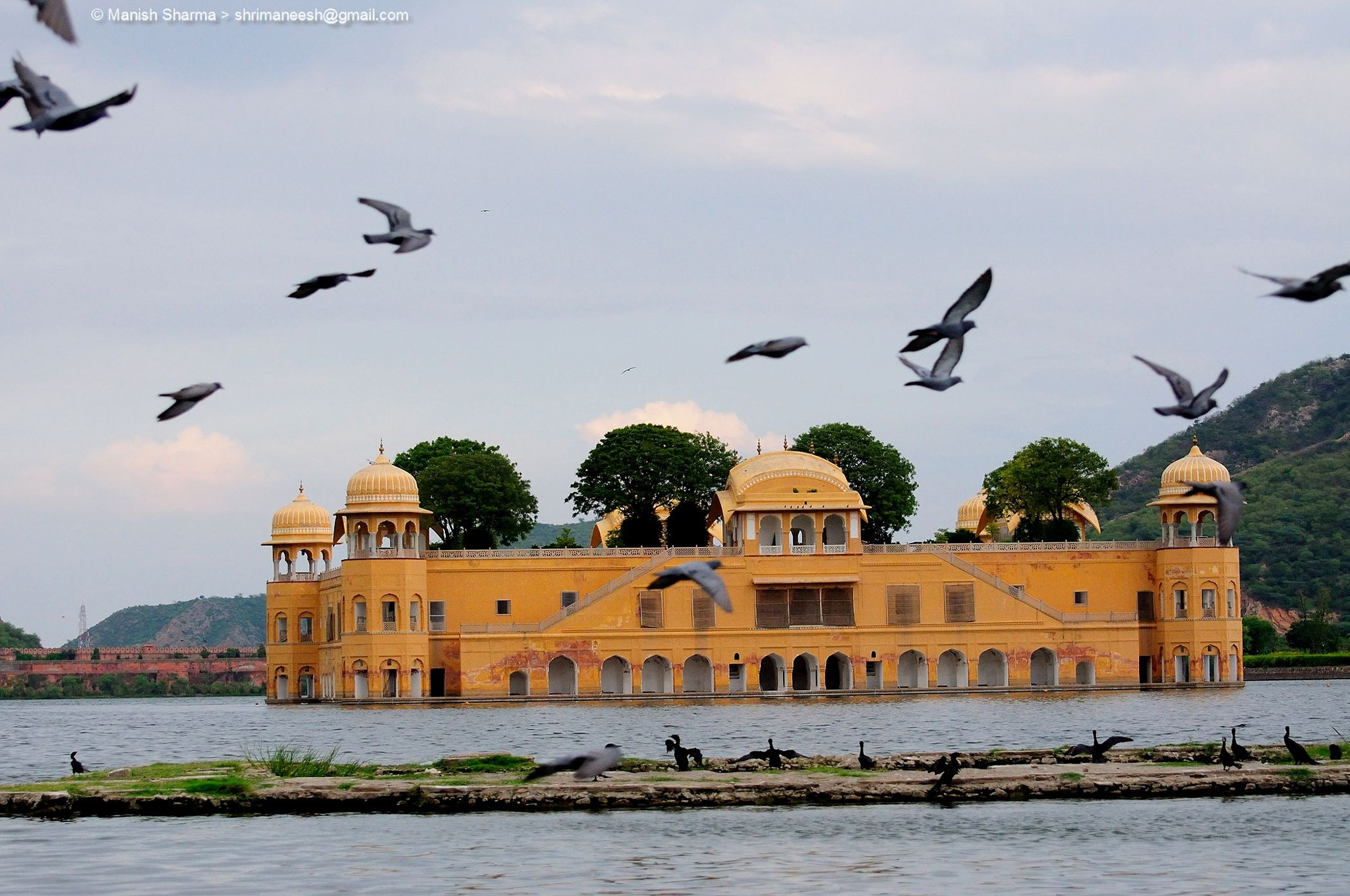 JAL MAHAL the JEWEL of Jaipur. India by Maneesh Sharma