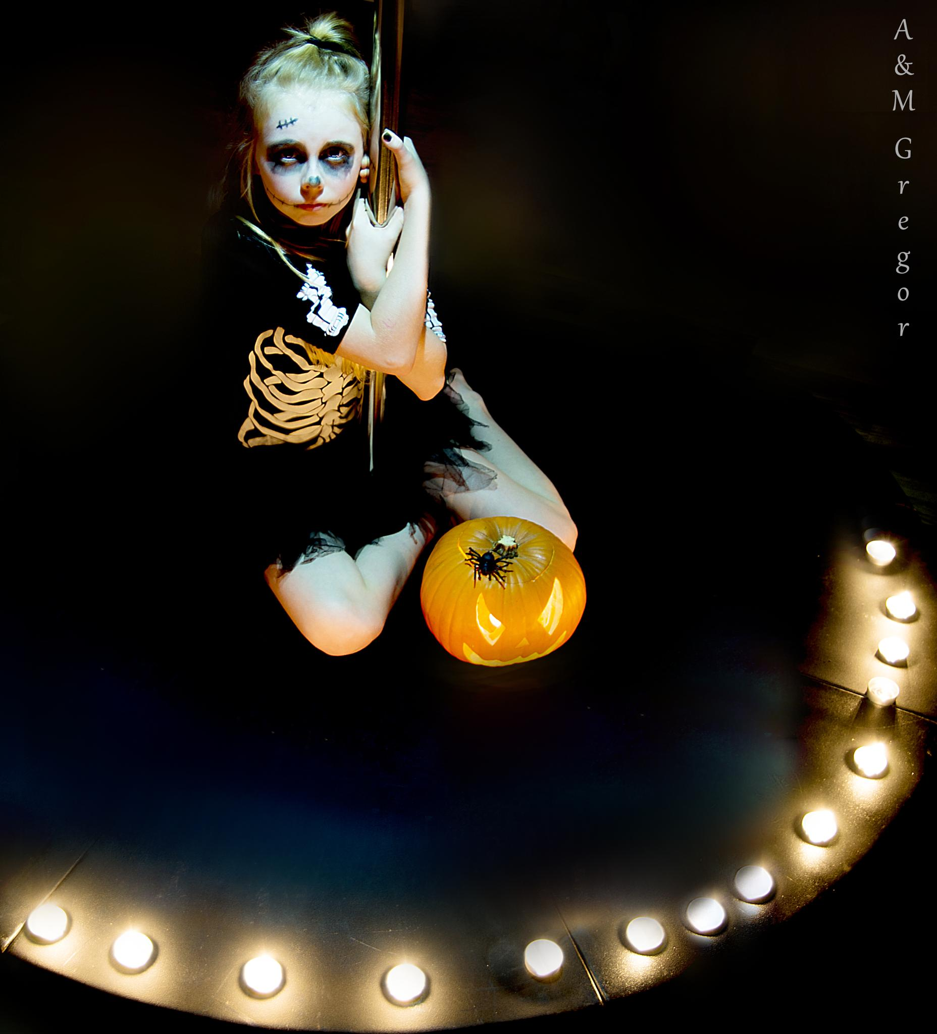 Photo in People #people #halloween #girl #scary