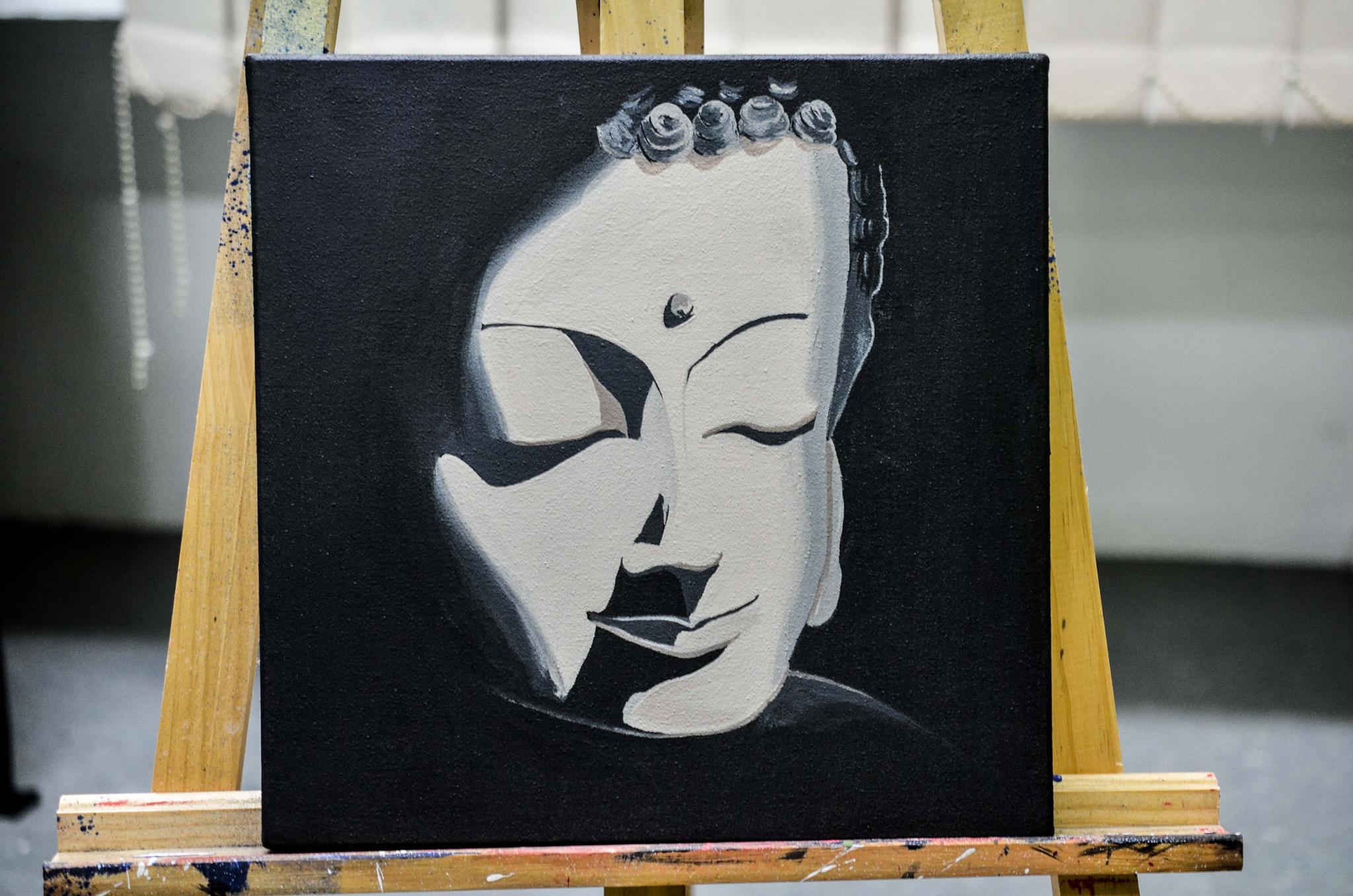 """SMILING BUDDHA"" by Kalvintaka Tan"