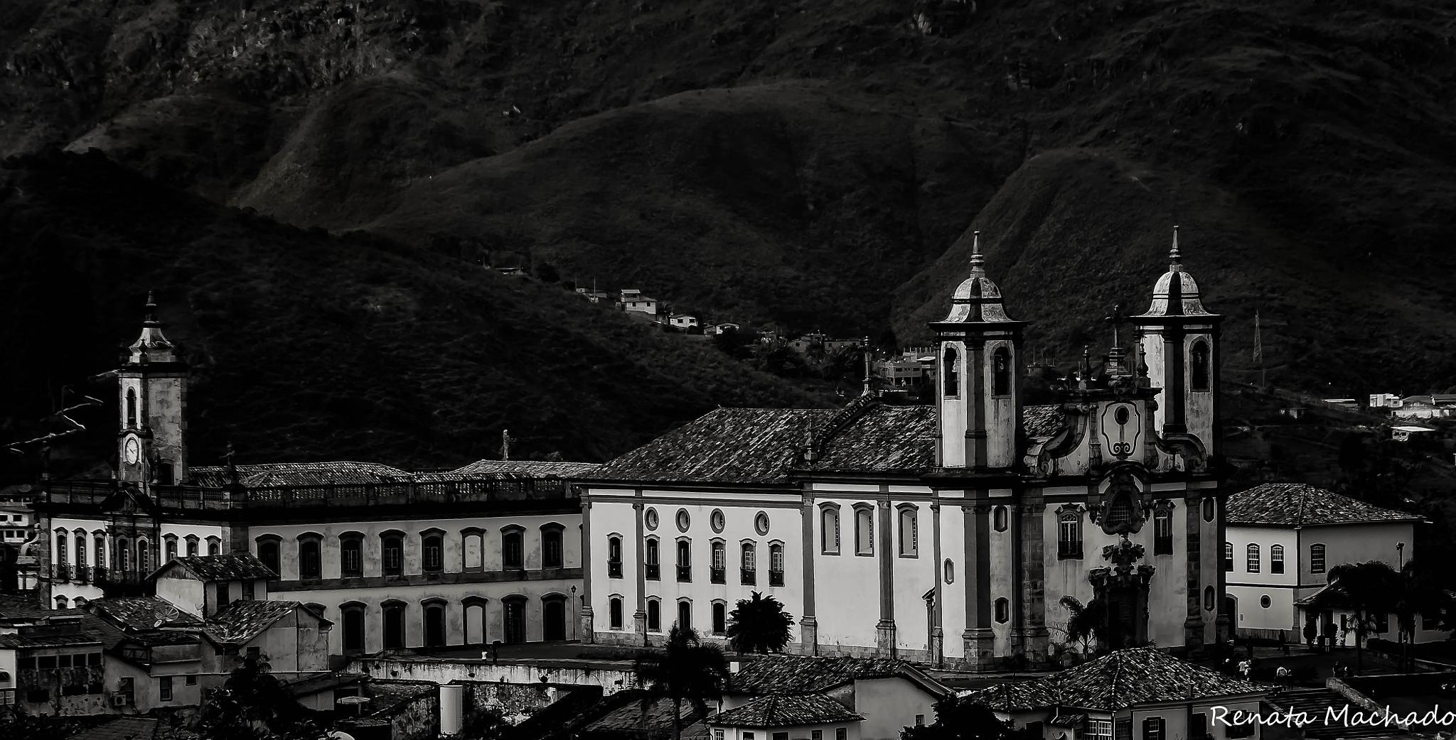 Photo in Black and White #church #igreja #brazil