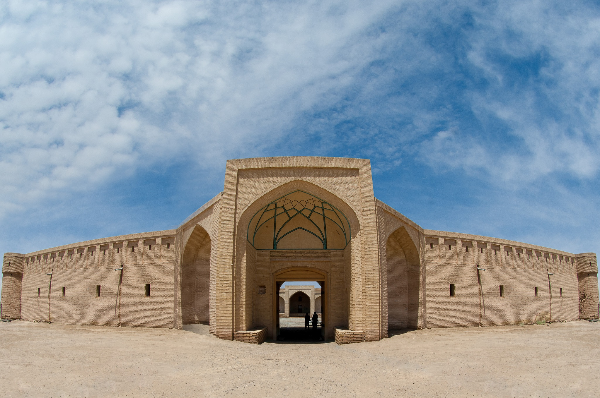 Maranjab Caravansaray by Mehrdad Bathaee