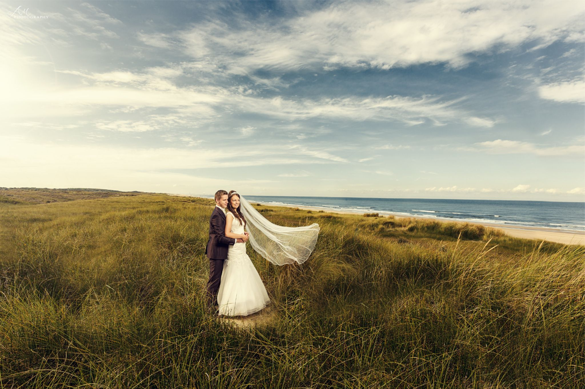 After Wedding on the Beach by AM_Photography