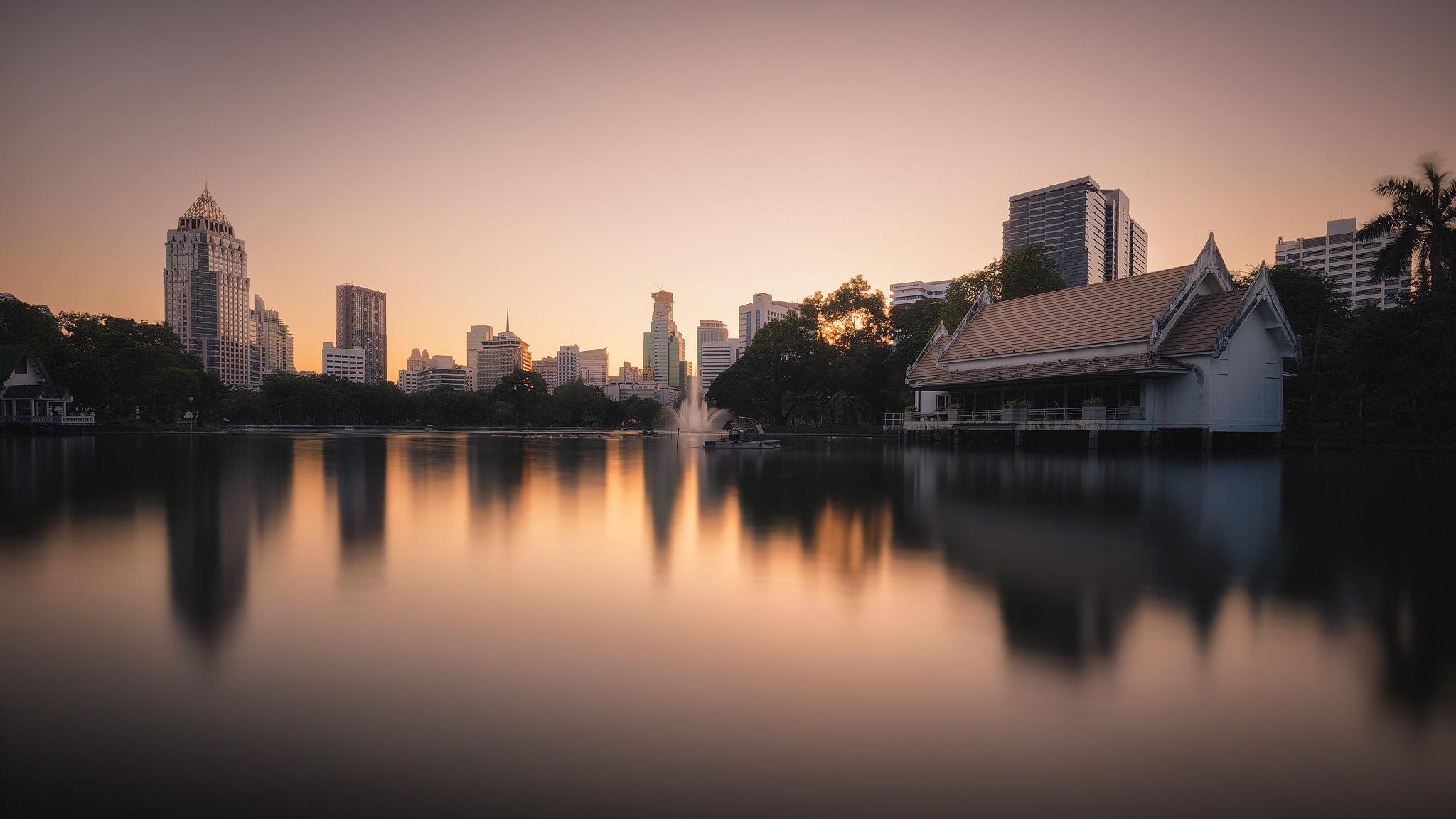 Bangkok skyline by Tomaž Klemenšak