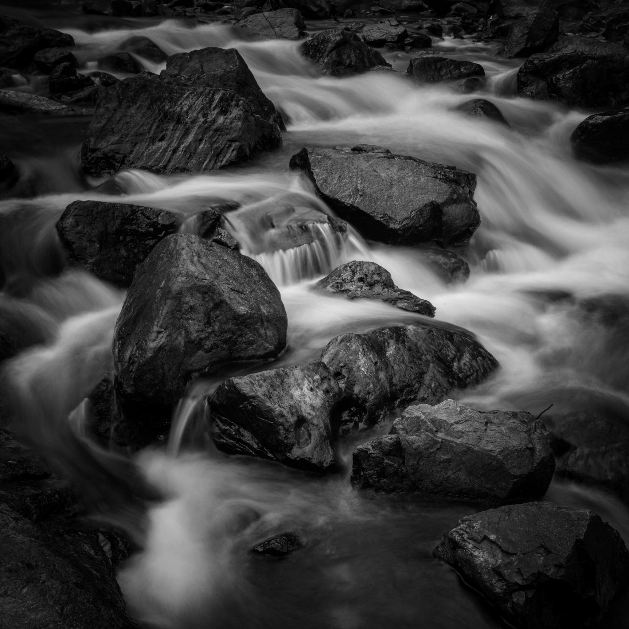 Photo in Black and White #river #water #black and white #landscape #nature