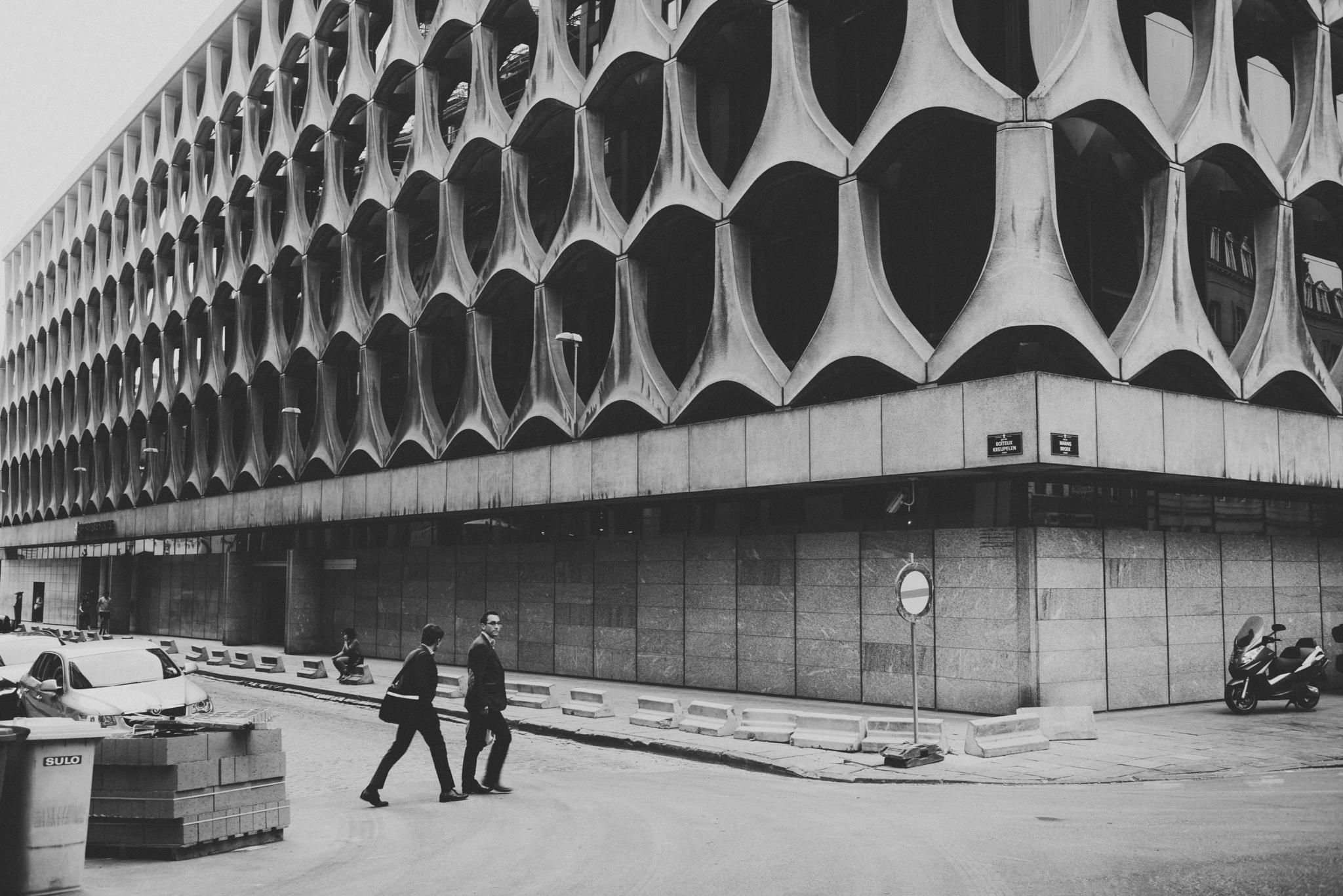 Man and architecture: a monumental relationship   by Matthias Ripp
