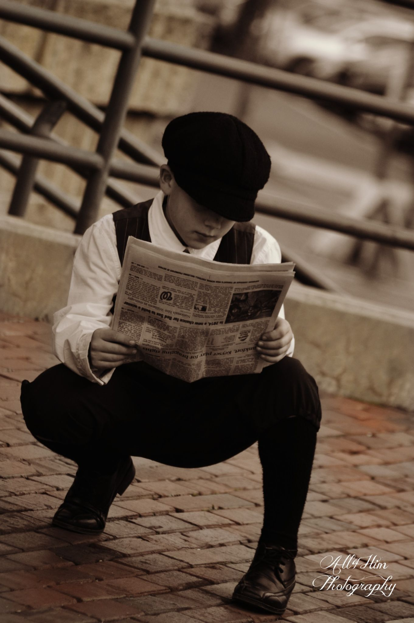 reading the paper by Wanda Poland