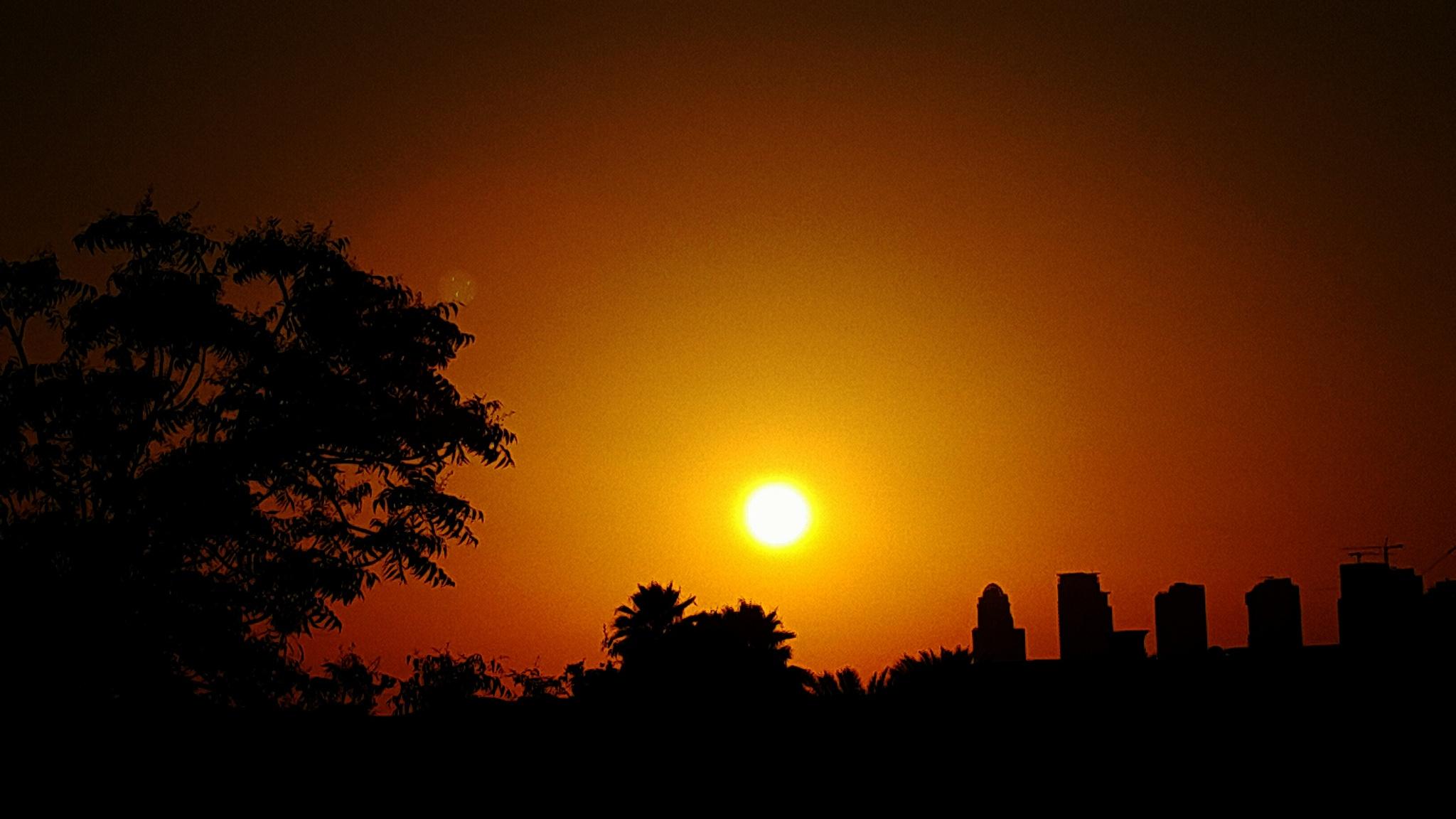 sunset by NEETA