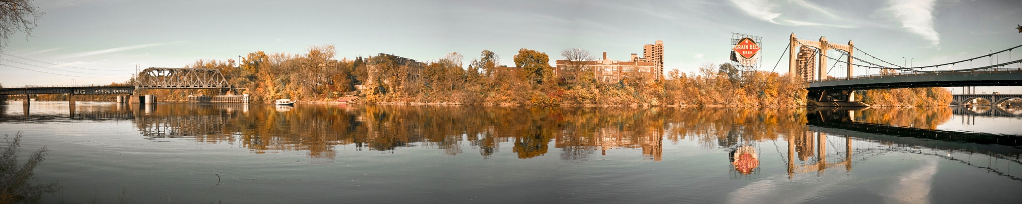 Nicollet Island - Minneapolis, MN by Robert Henry