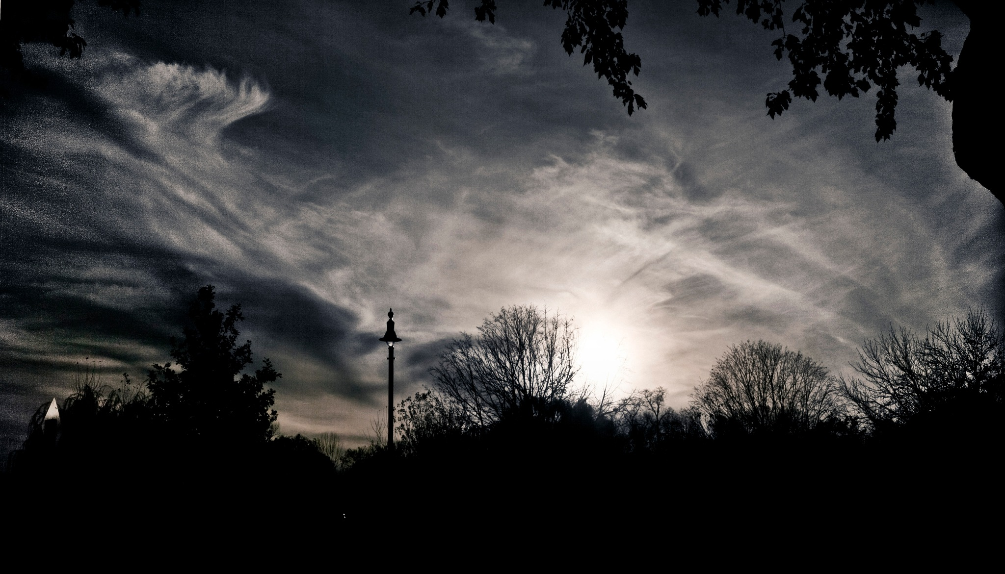 Sunset Clouds by Robert Henry