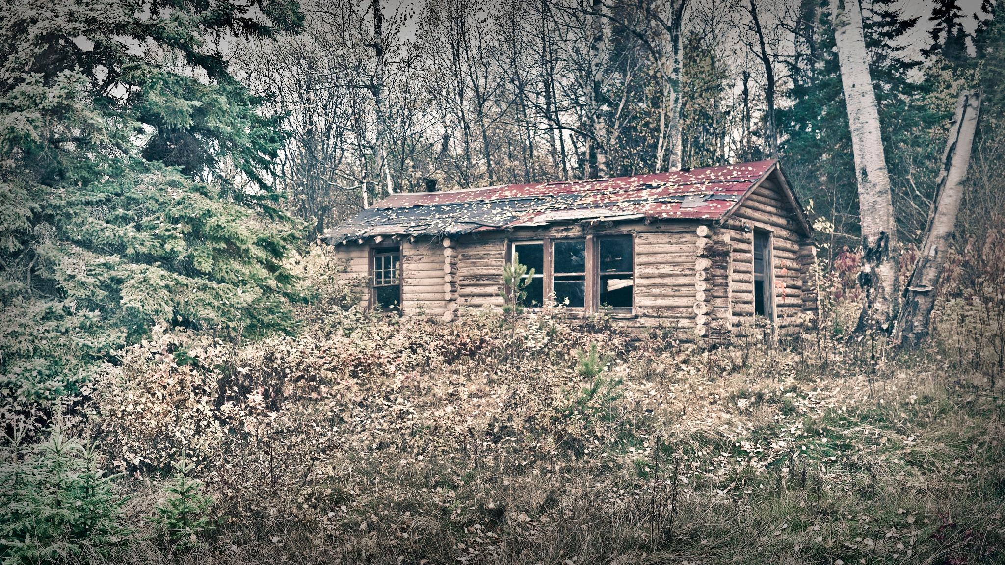 Deserted Cabin on Lake Superior by Robert Henry