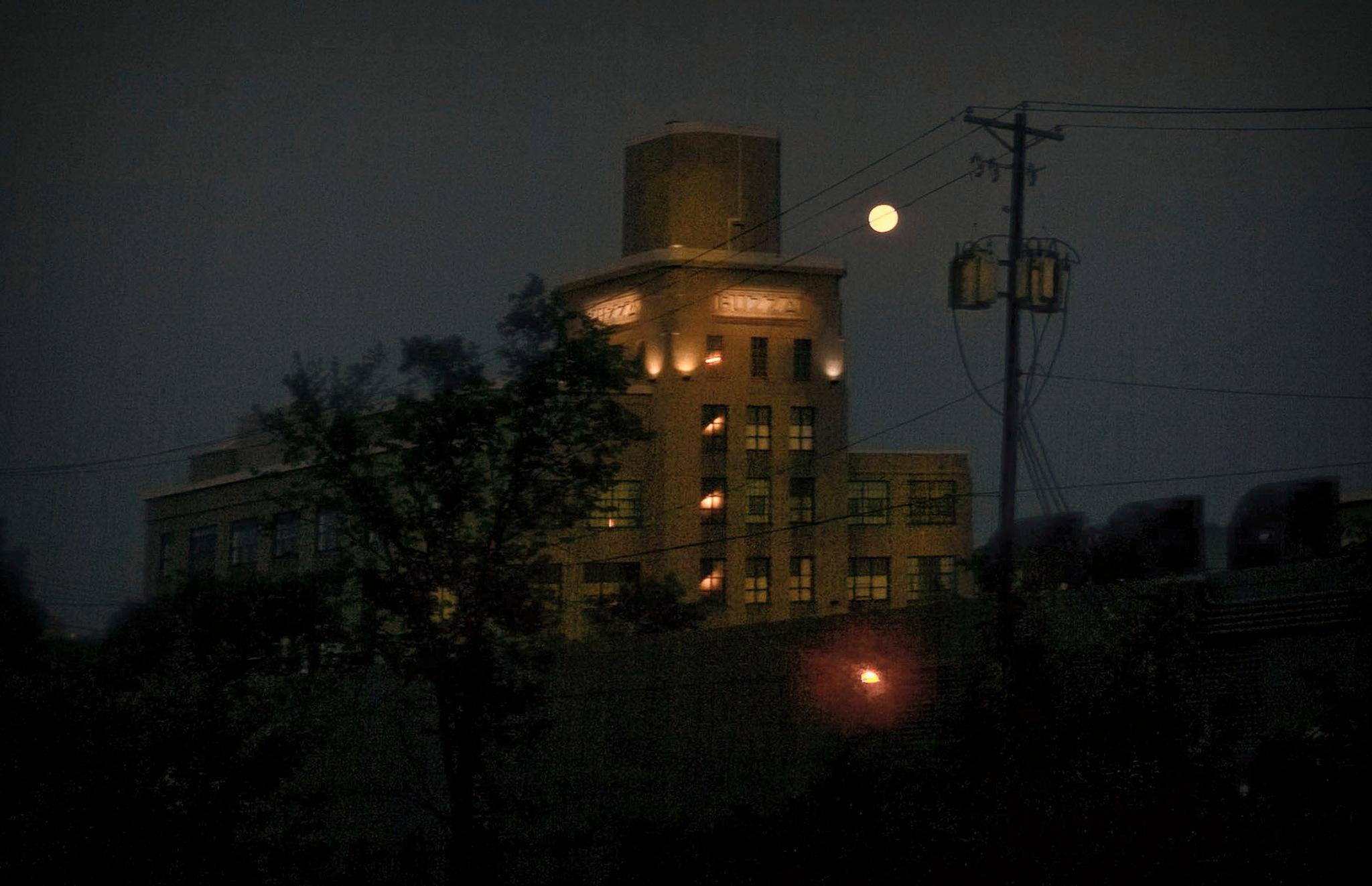 Moon Rising 9:10 by Robert Henry