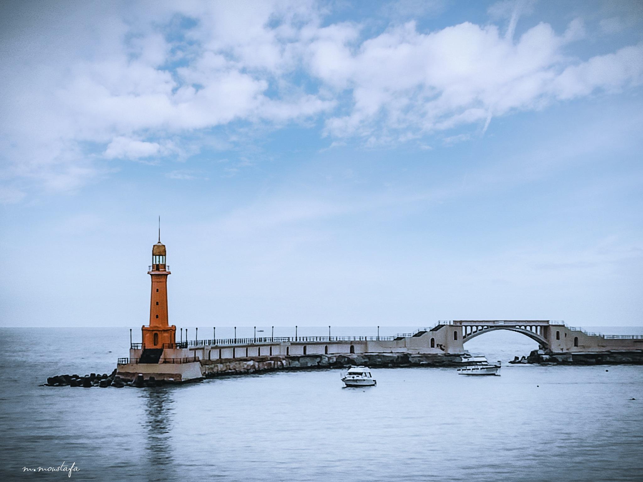 Montazah's lighthouse by Mohamed Moustafa