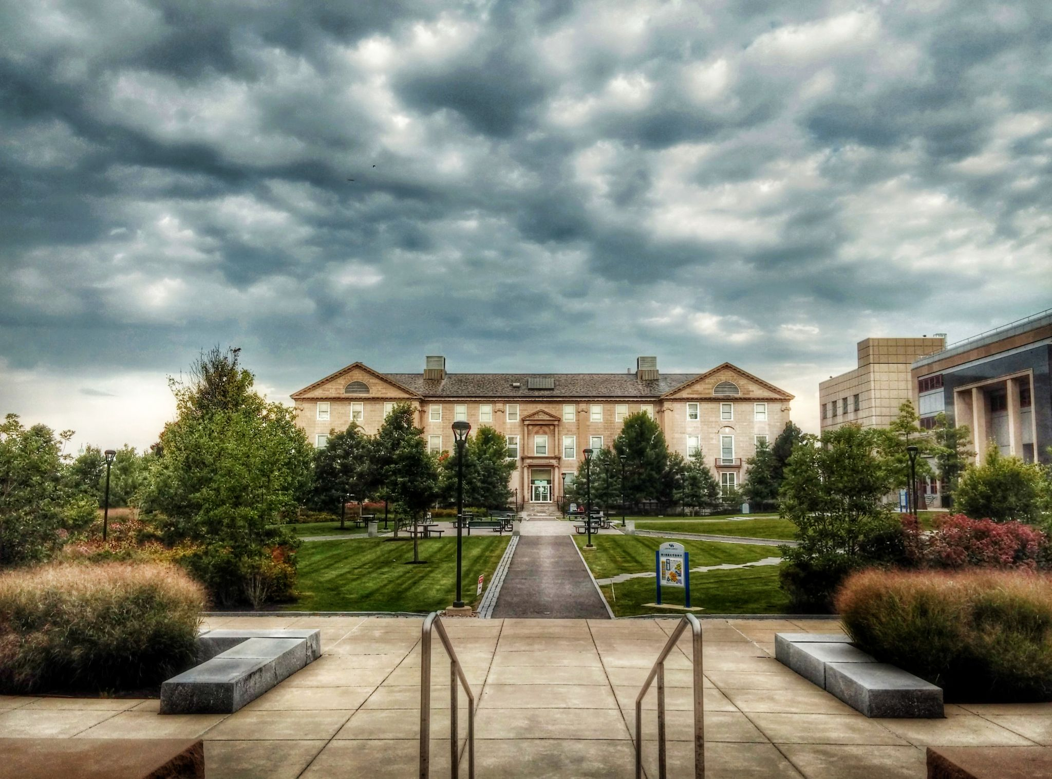 Foster Hall in UB South Campus by Sayem M A Shah