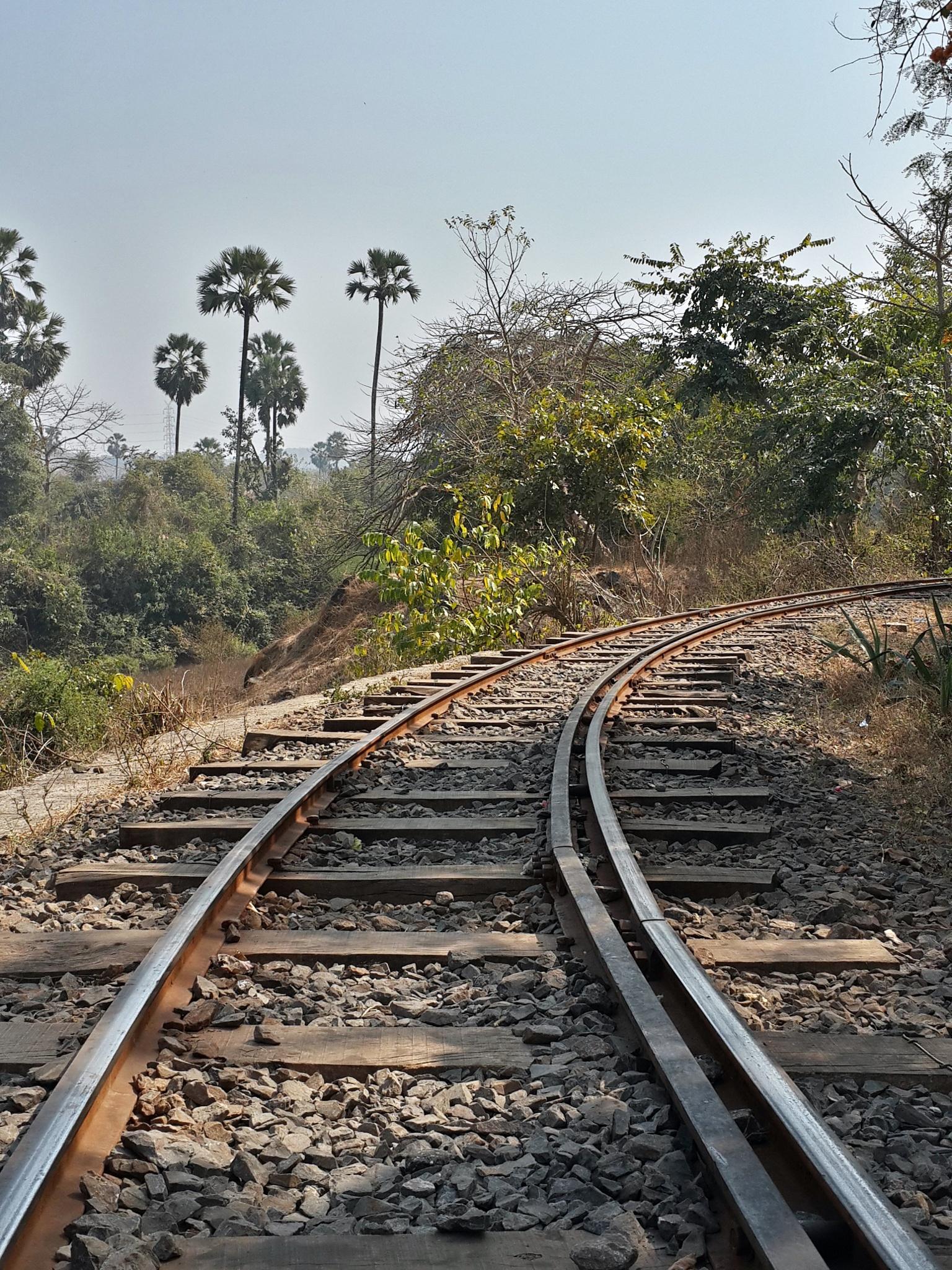 Railway Track. by Shreyas Desai