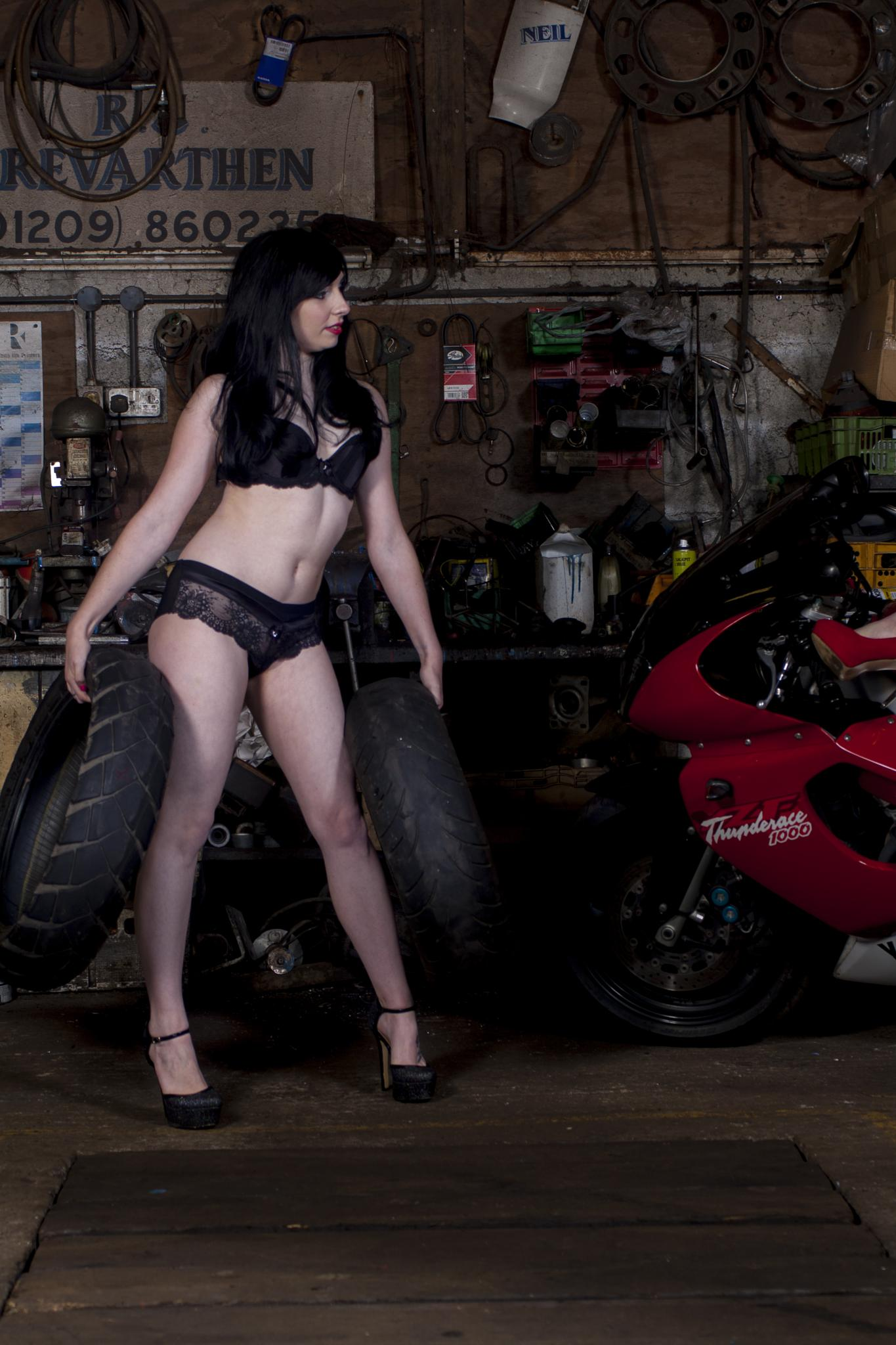 Emma the Tyre Fitter by johnrichards1466