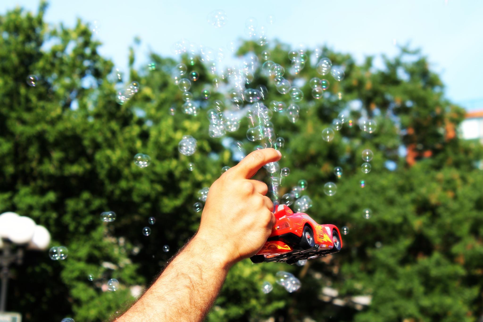 bubbles by Mitza