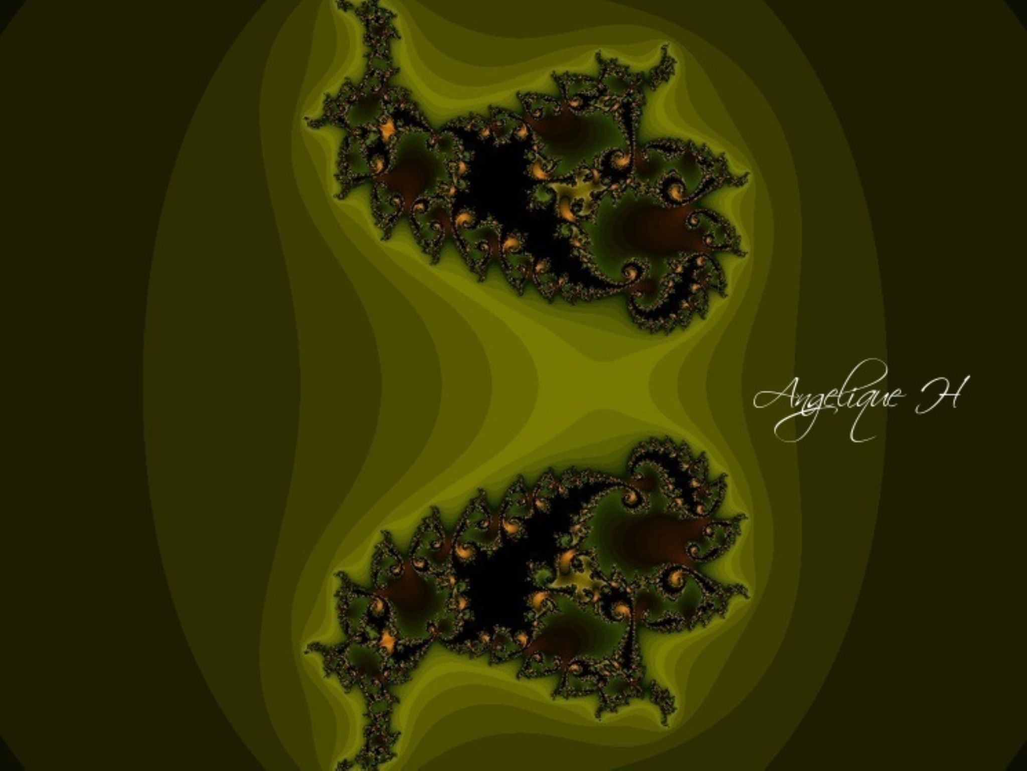 XaoS app, Pheonix fractal Angelique H  ab 2014 by AngeliqueH