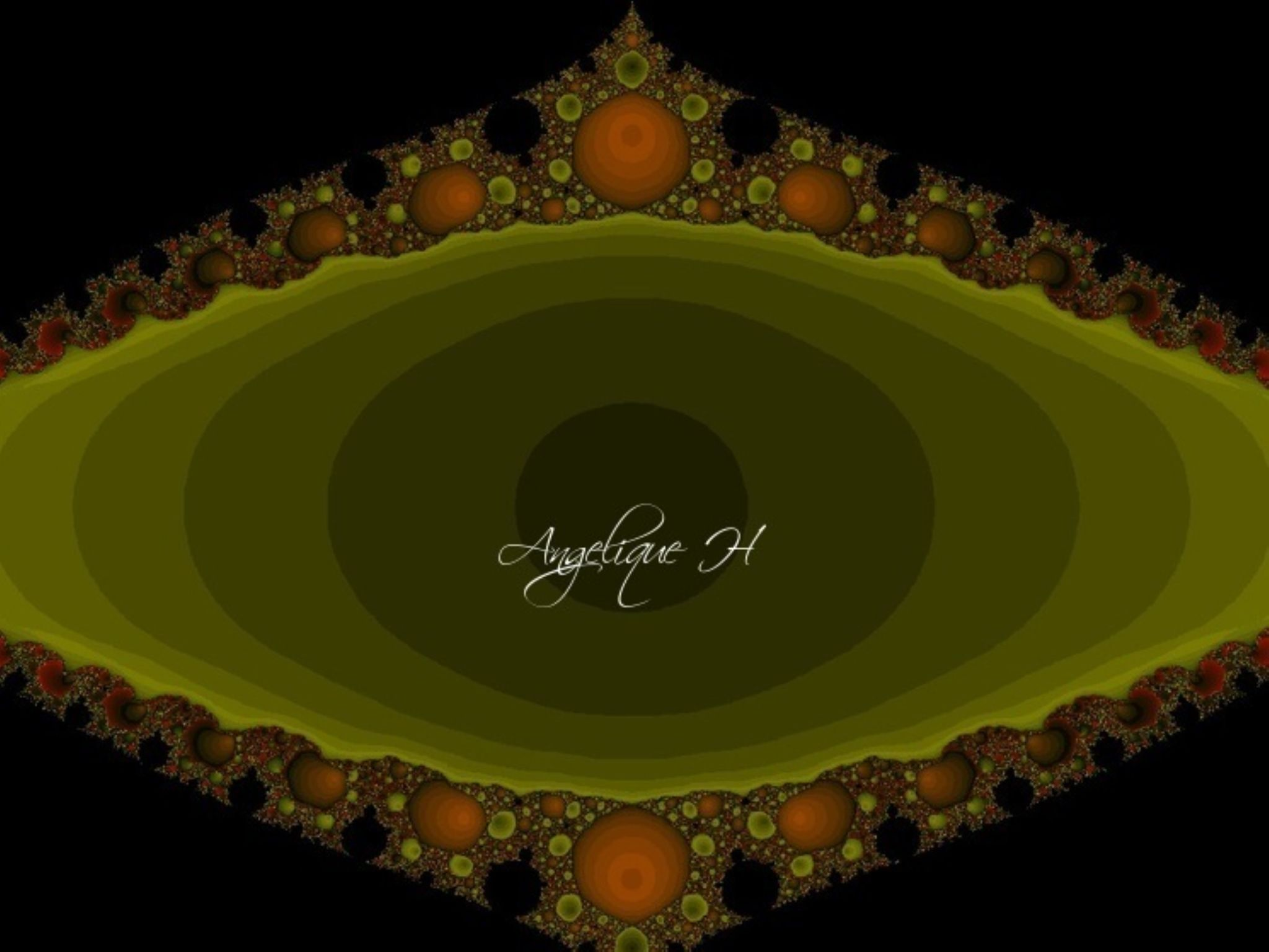 XaoS fractal that I made Angelique H ab 2014 by AngeliqueH