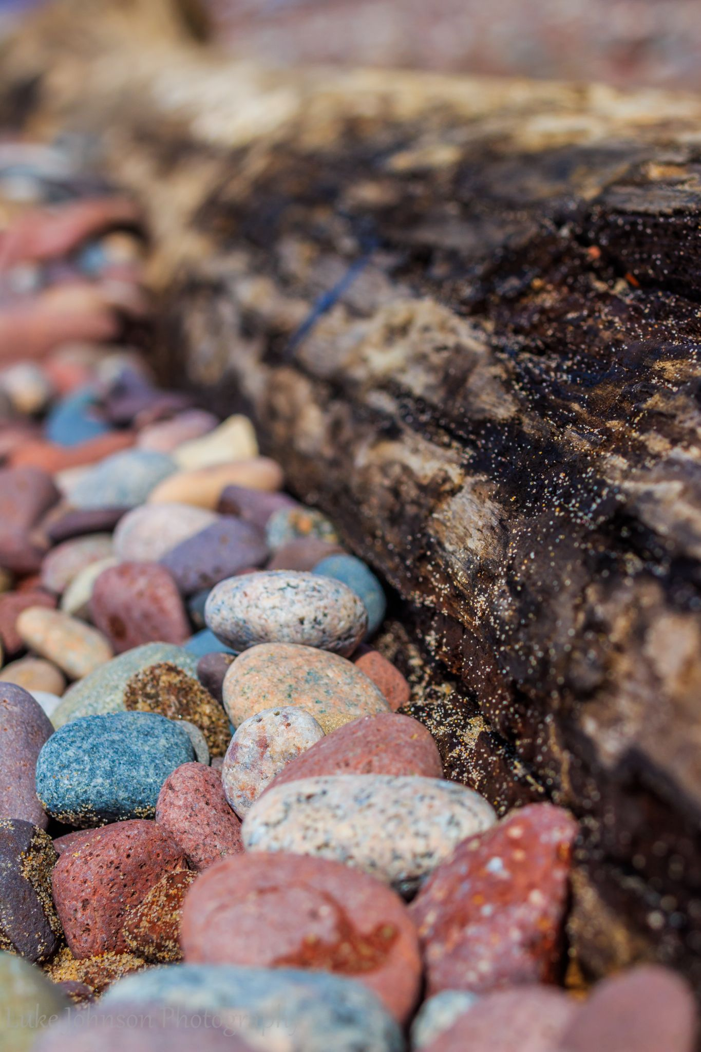 Beach Stones by Luke Johnson