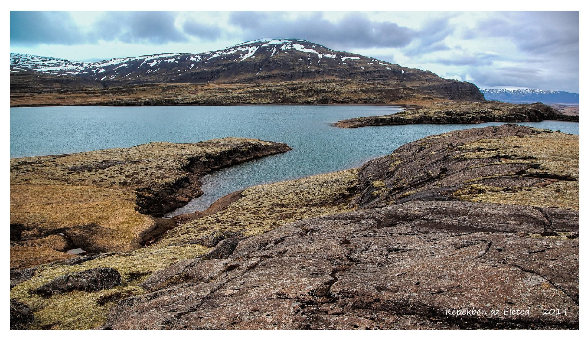 Iceland landscape by Tibor Sari