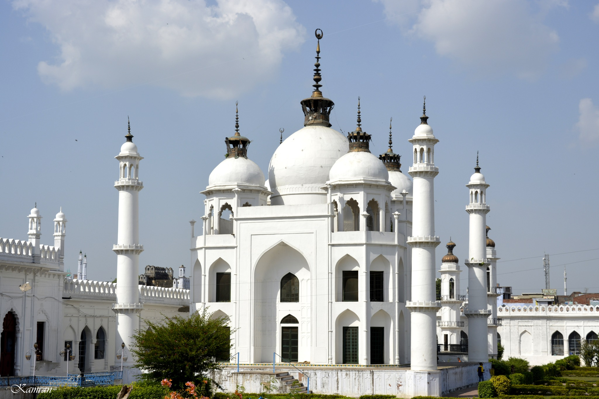 White mosque by kamran