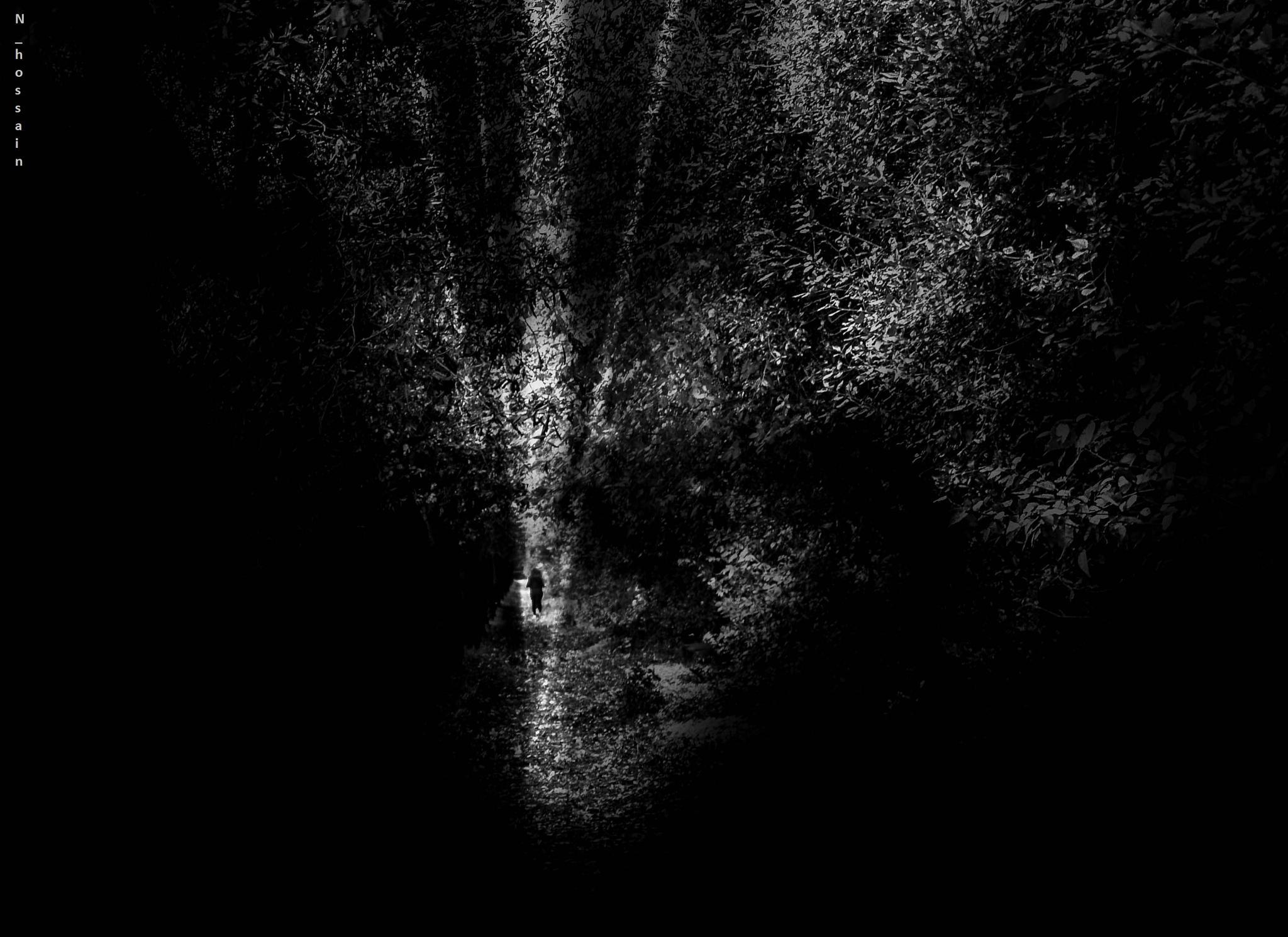 Frenare l'oscurità by Nazmul Hossain