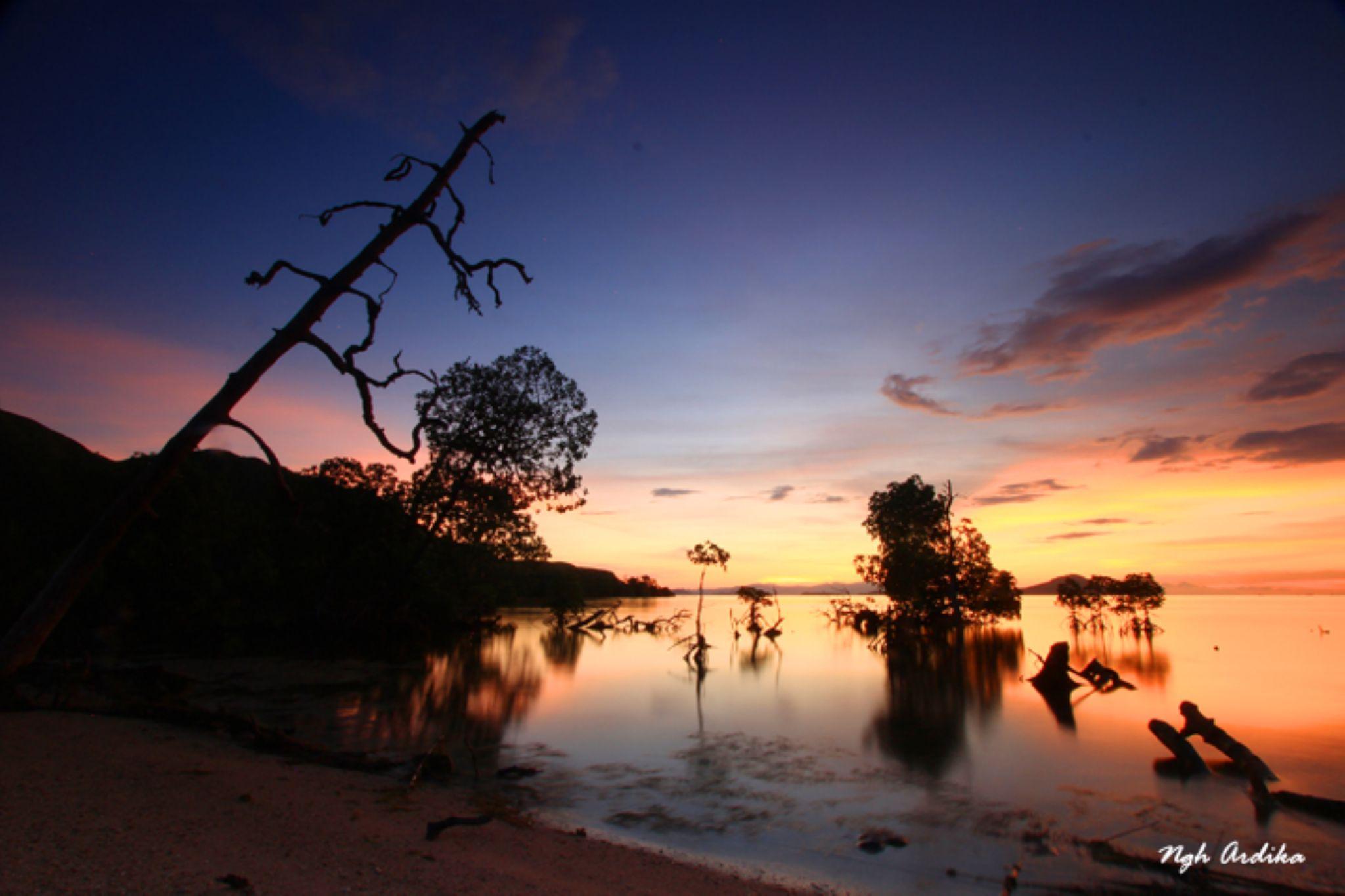 The silent sunset of Pulau Pungu, NTT, Indonesia by Ngh Ardika