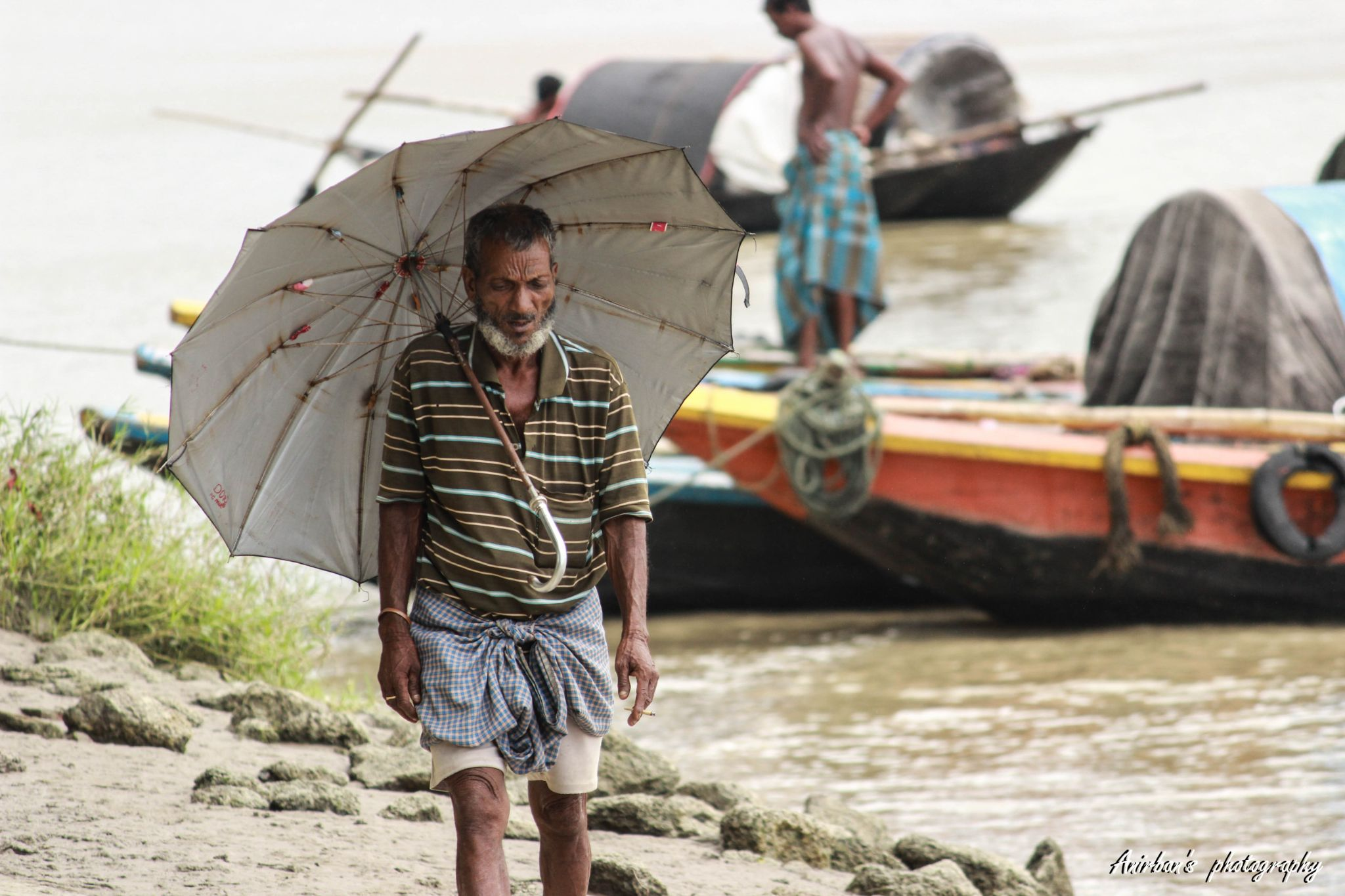 The harsh shades of a bright life by Anirban Banerjee