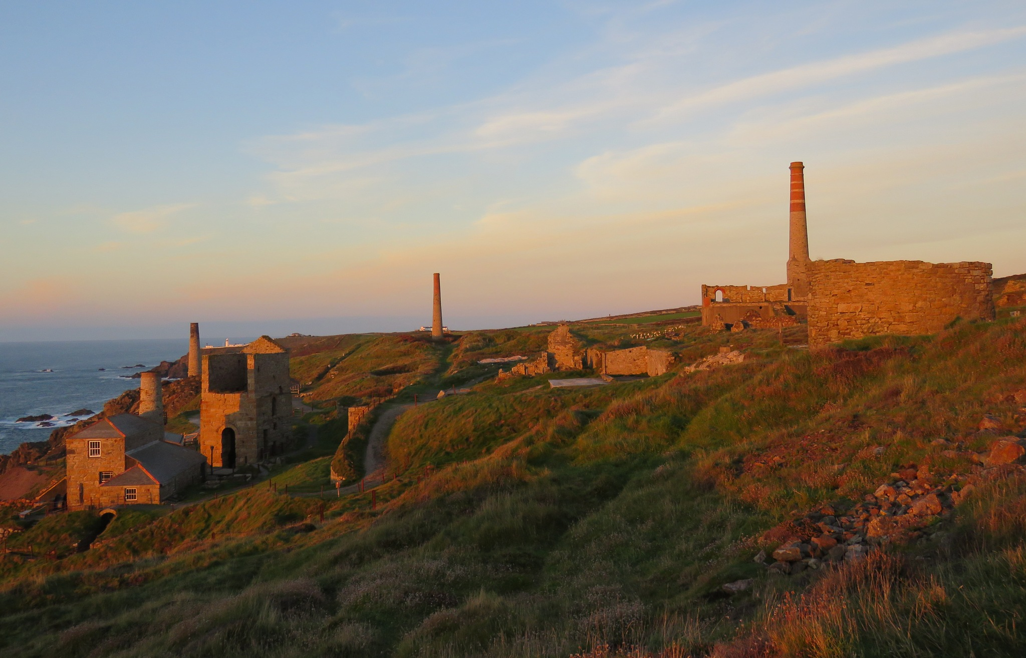 levant tin mines by Nige Photography