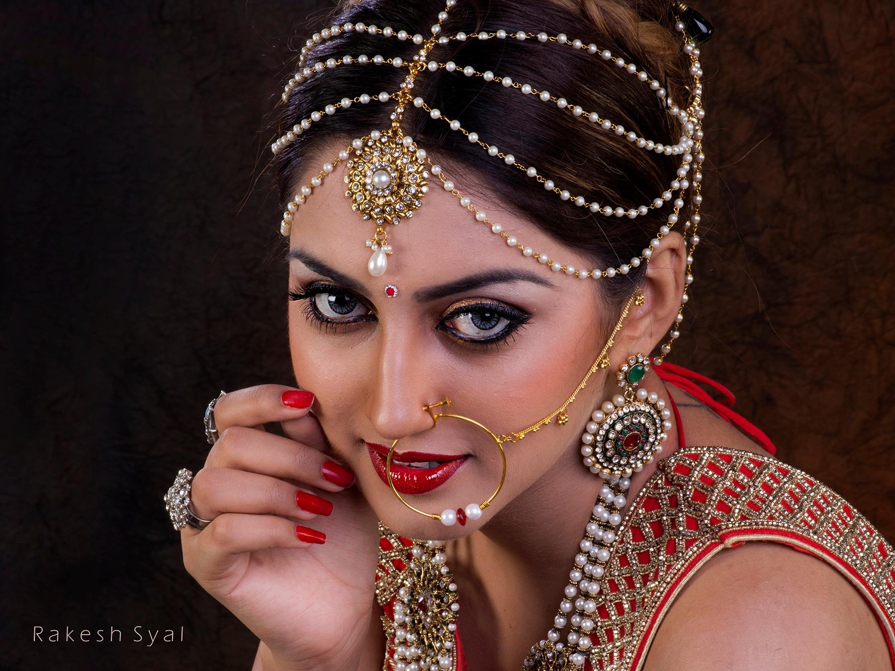 A BRIDAL PORTRAIT by Rakesh Syal