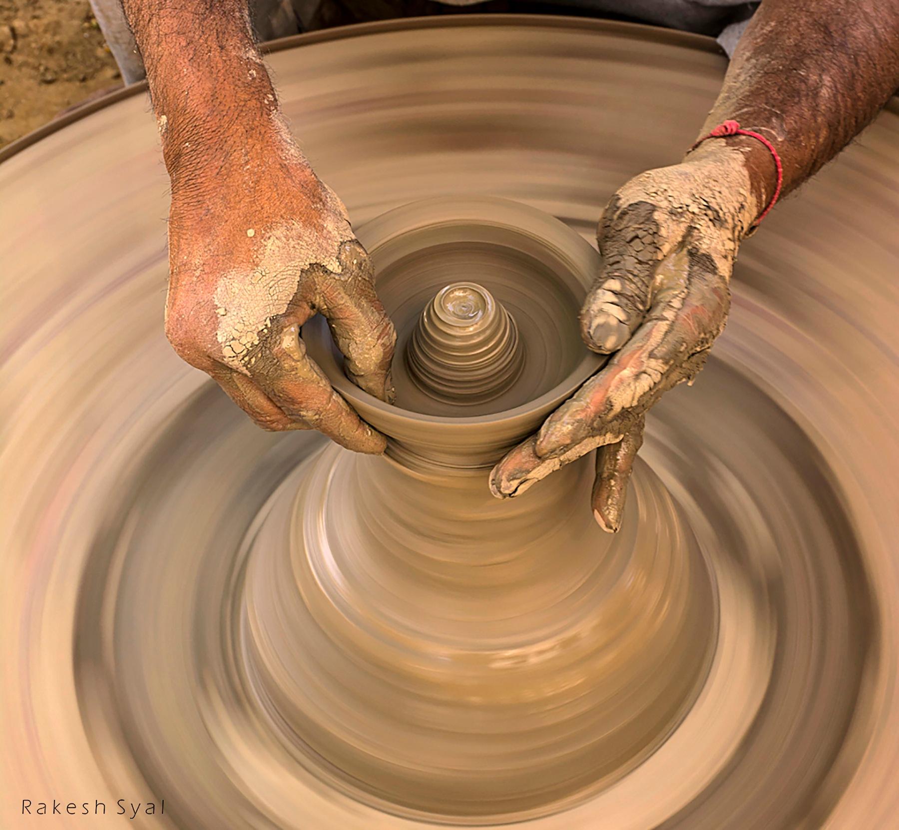 MOULDING HANDS by Rakesh Syal