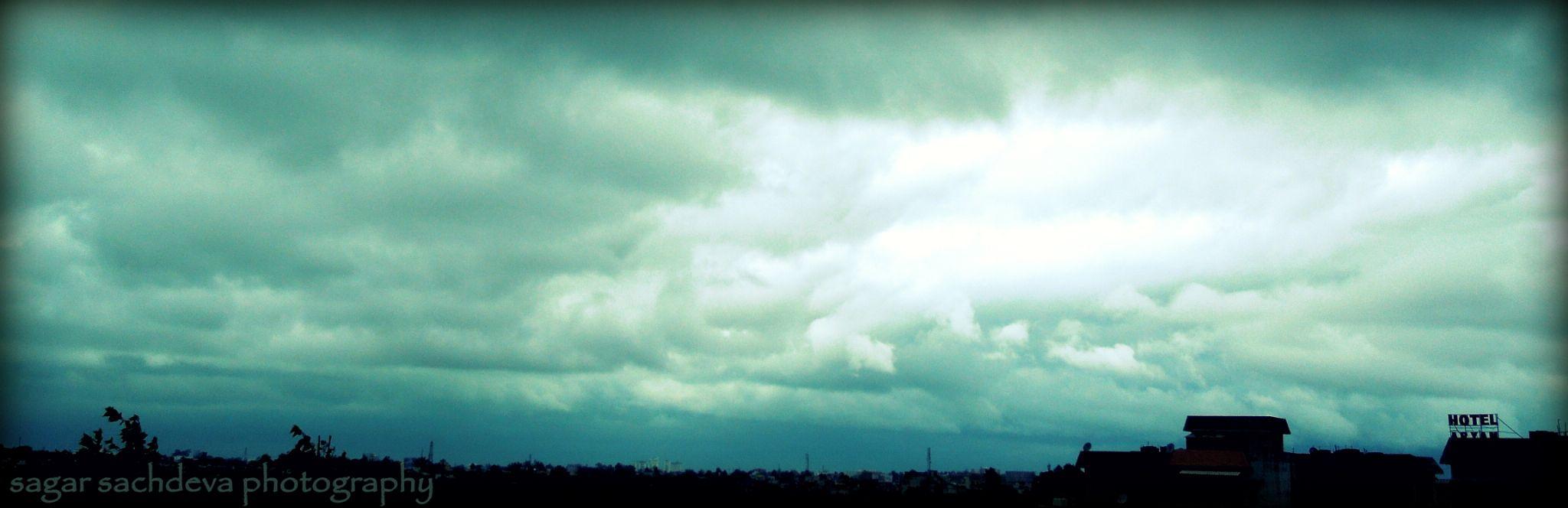 clouds by Sagar Sachdeva
