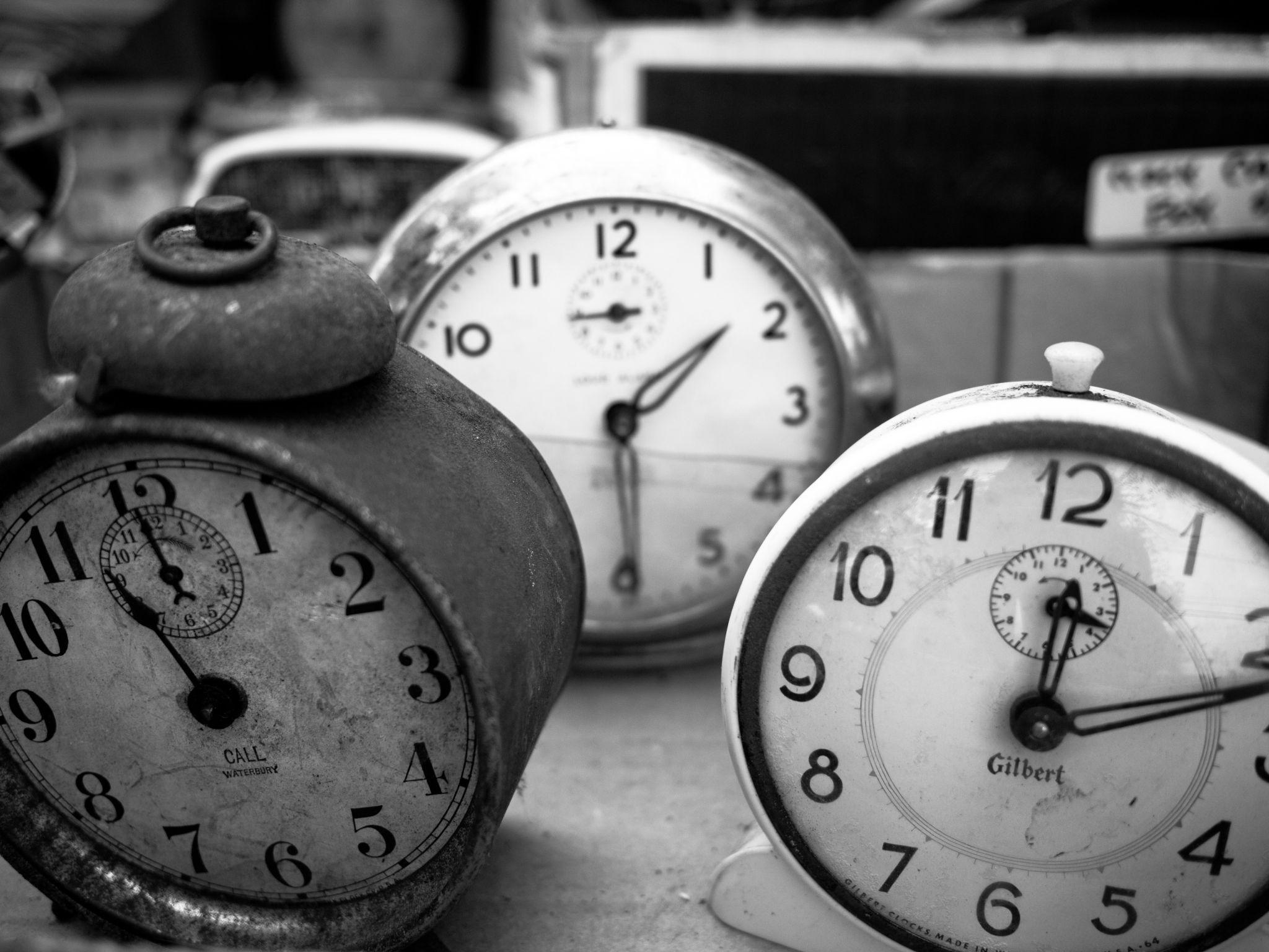 three clocks by Leann