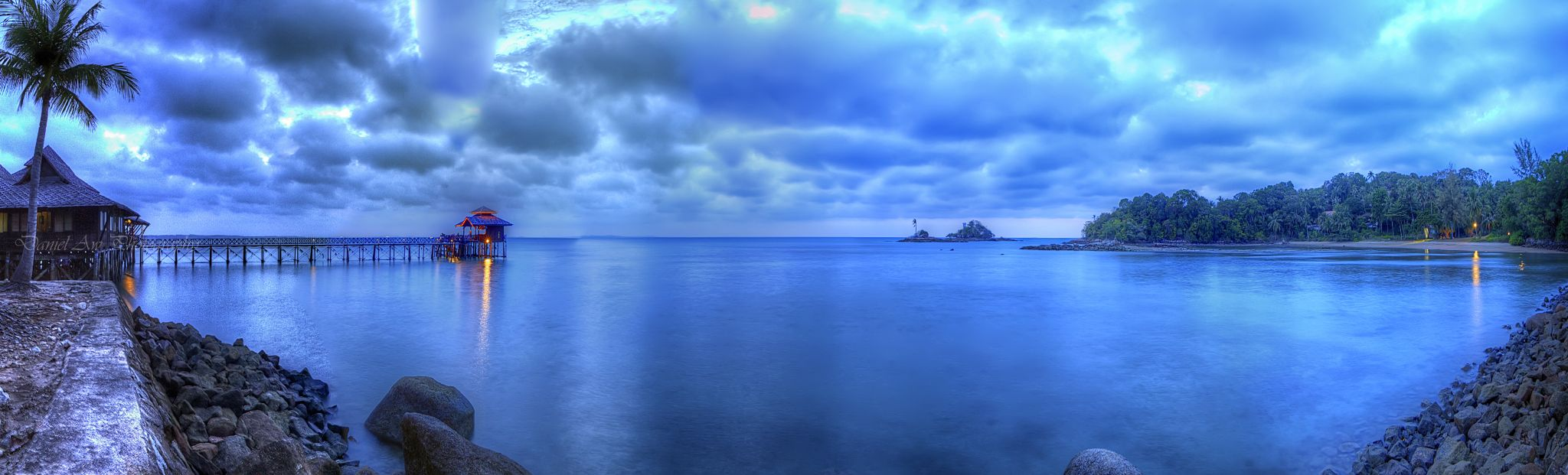 Blue Serenade by Daniel Aw