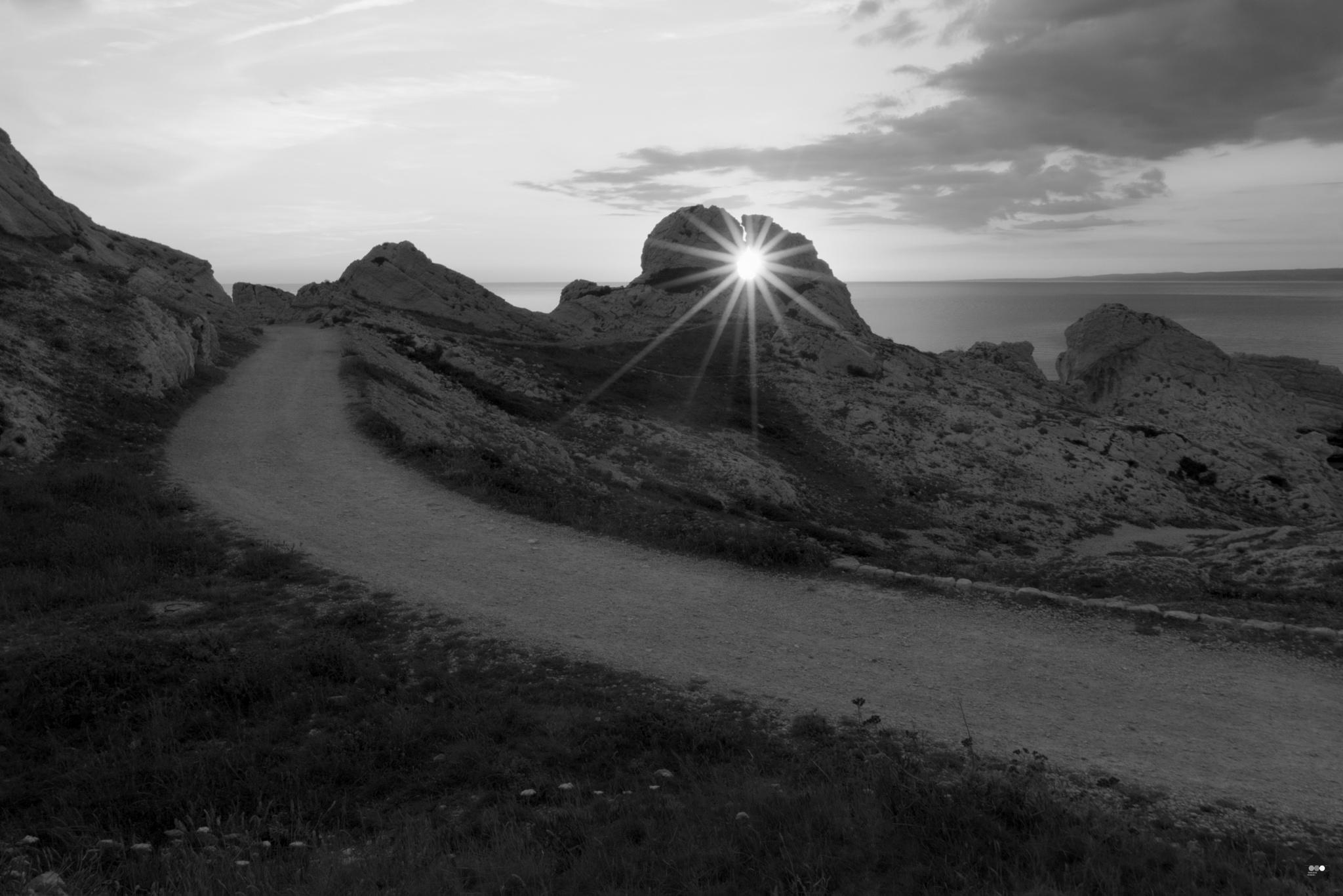 Breakthrough rock by AmandineHerrero