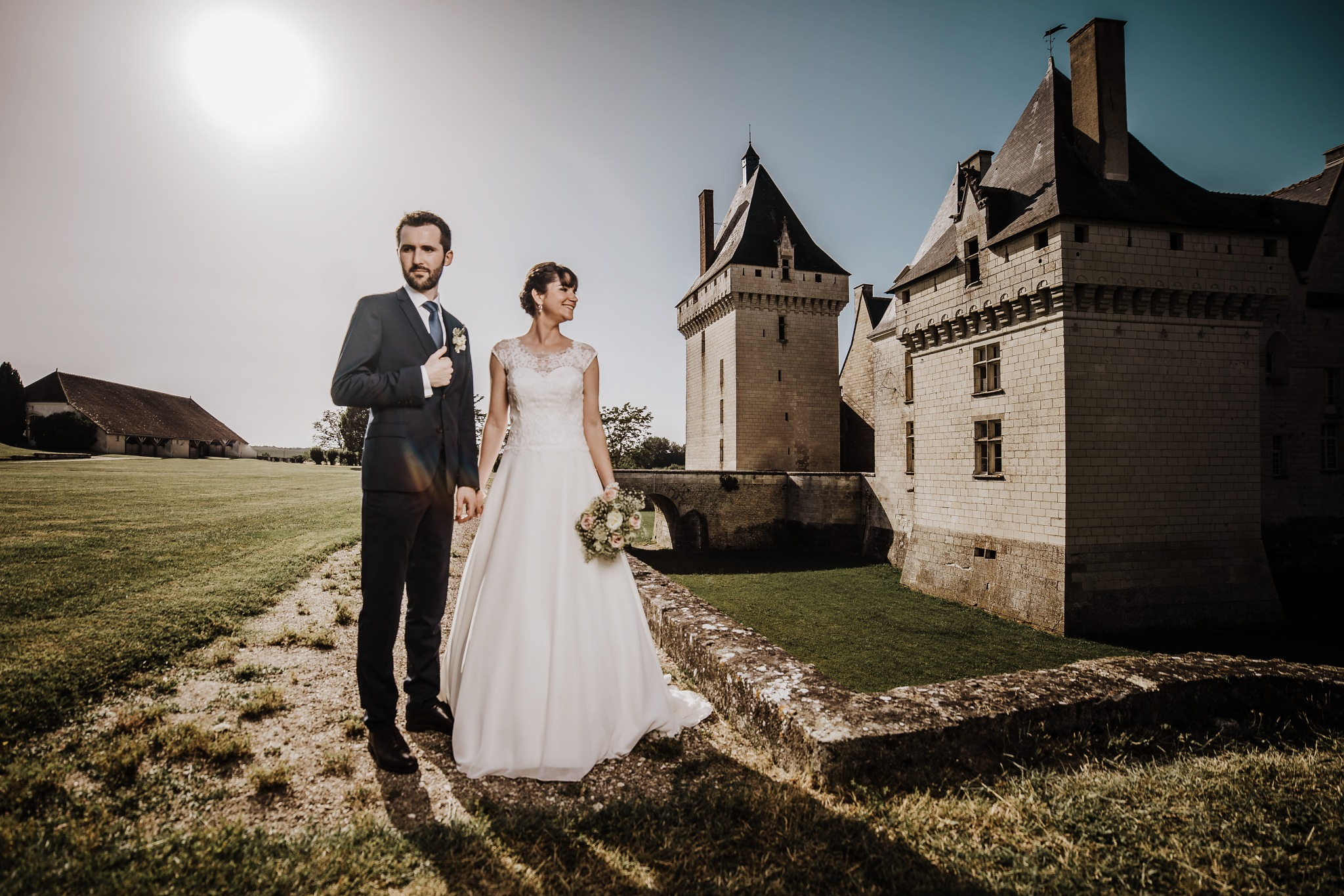 The french castle by Vladimir Plavac