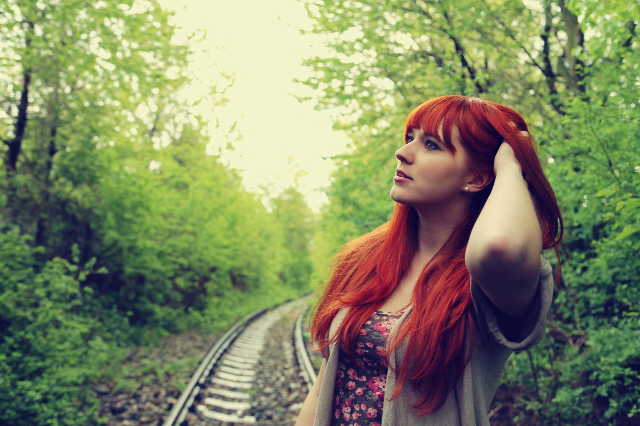 Lovely redhead by jaroslavakurilcova