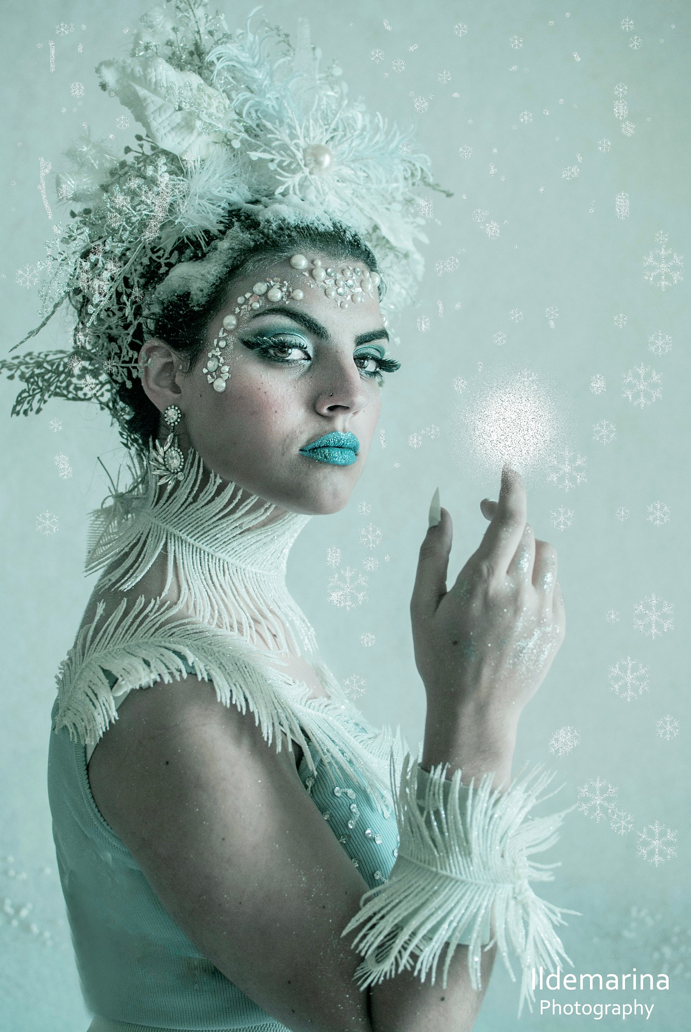The ice queen by Ildemarina