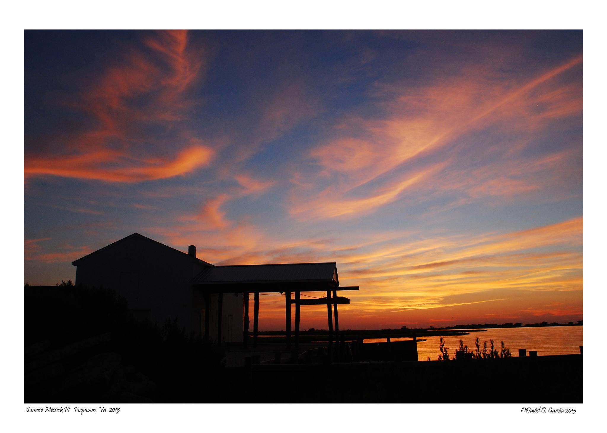 Sunrise Messick Point Poquson, VA by David Garcia
