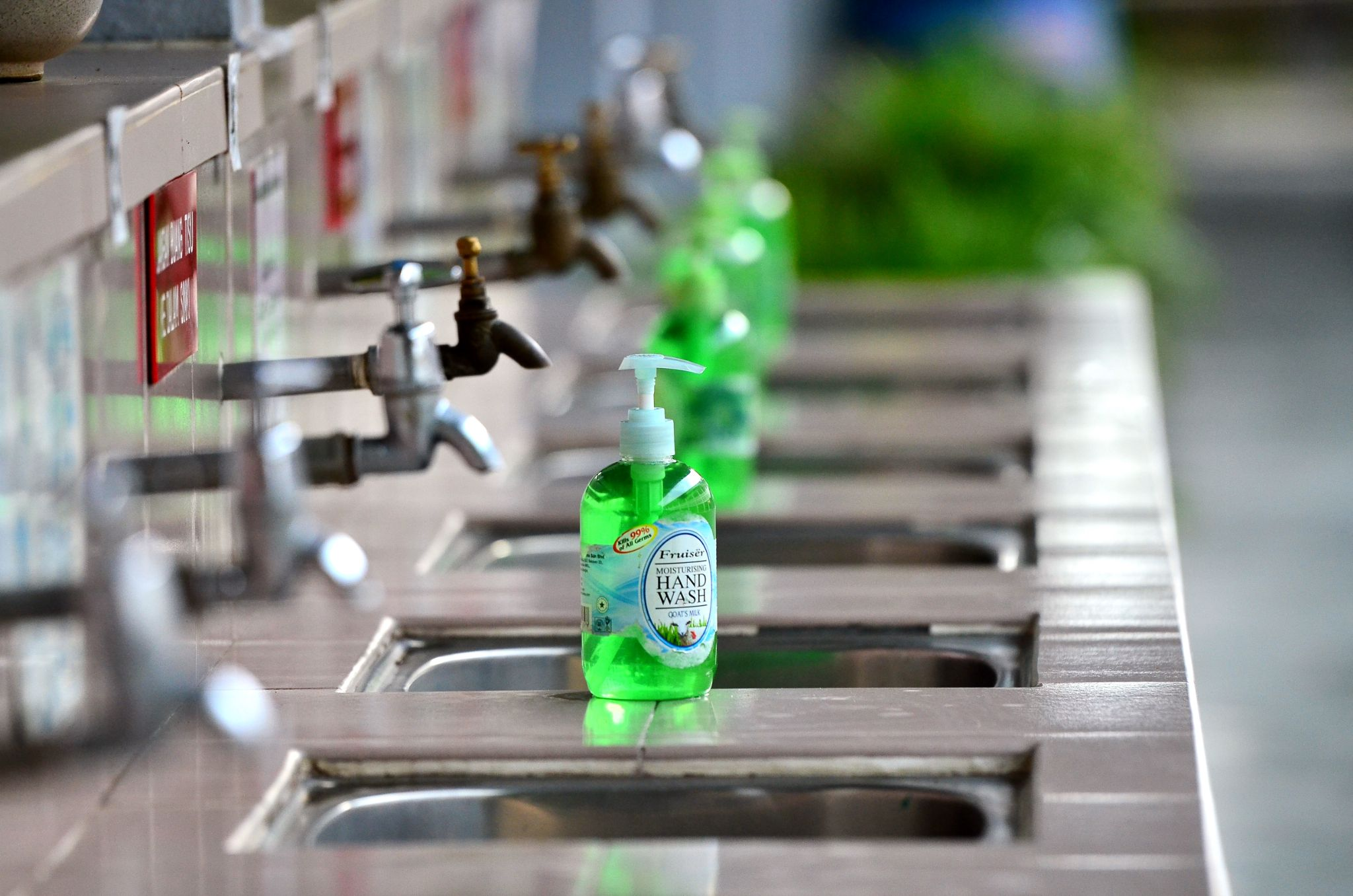 Hand Wash by Raymond Lee