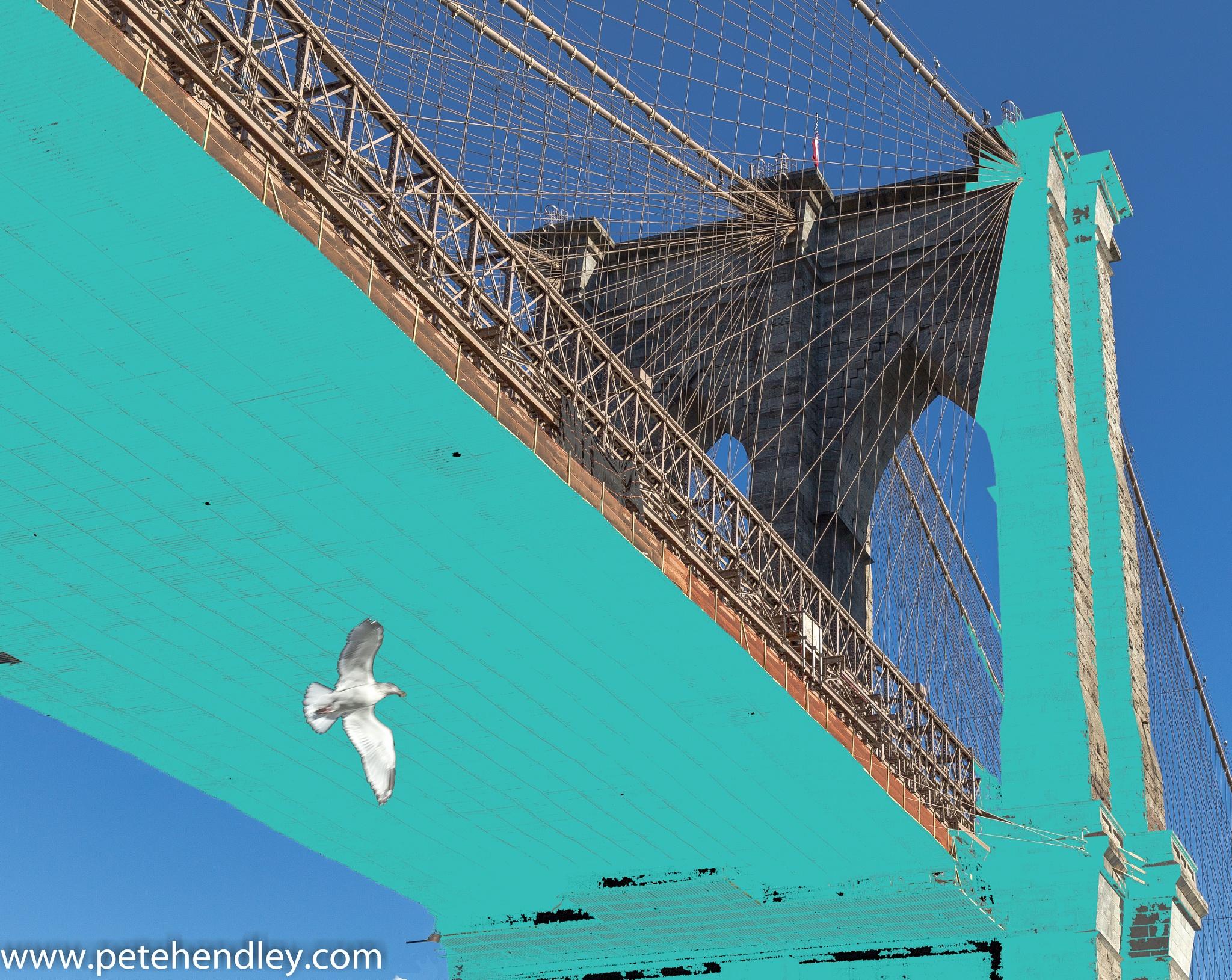 Brooklyn Bridge by Pete Hendley Photography