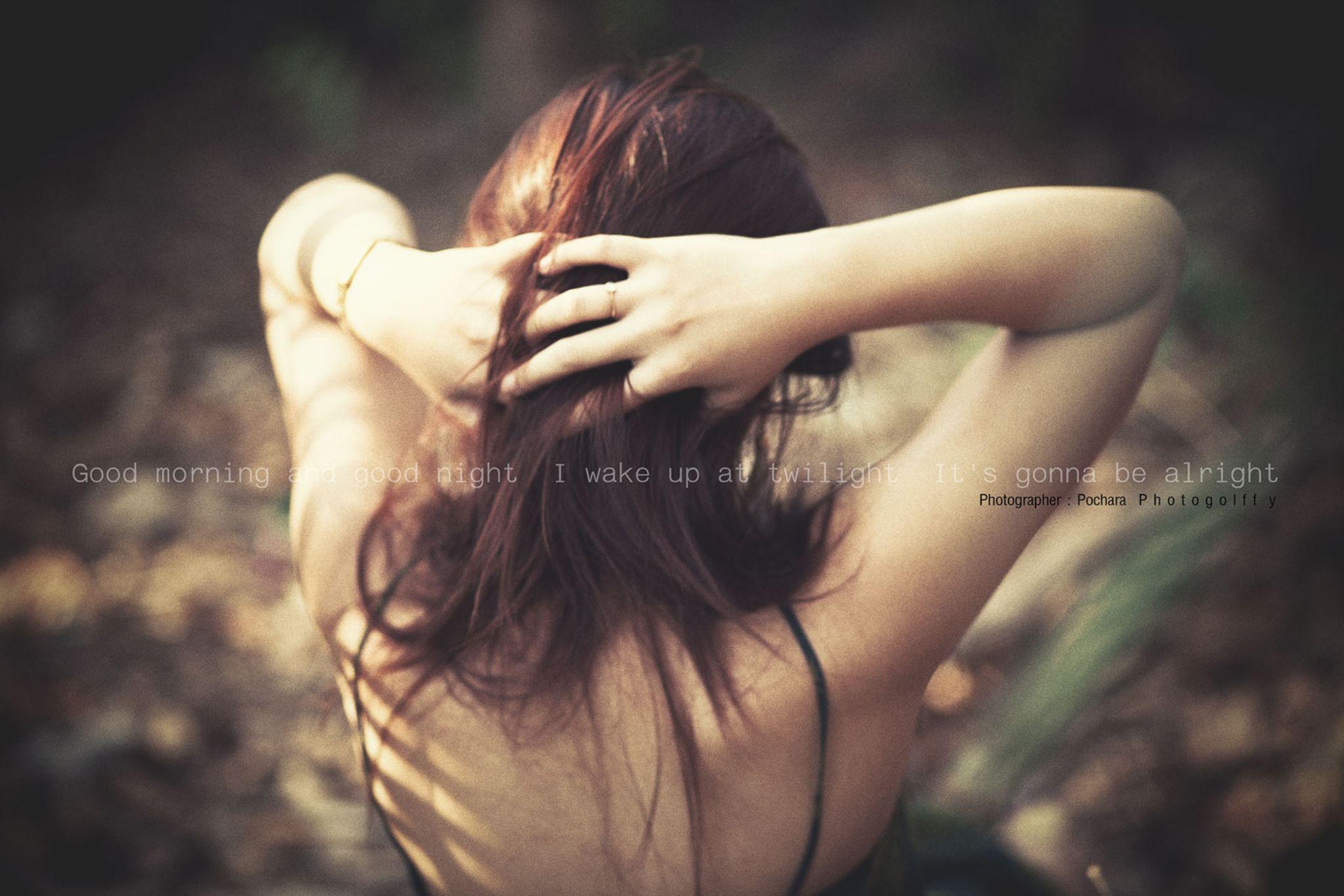 BEHIND ME by Pochara  Photogolffy