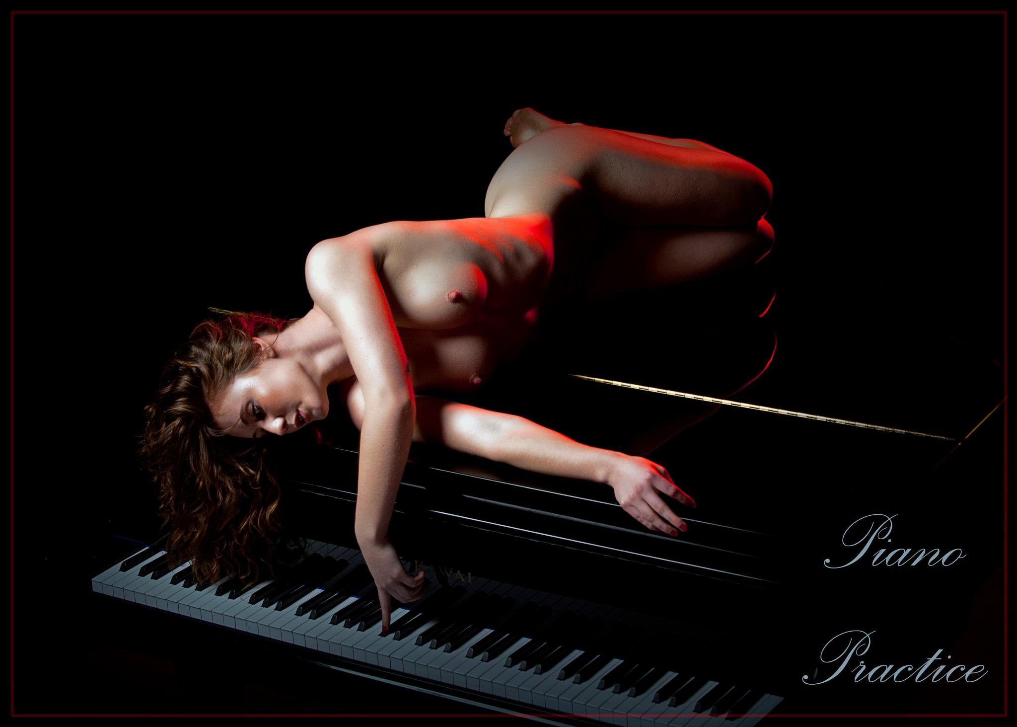Piano Practice by Dacro