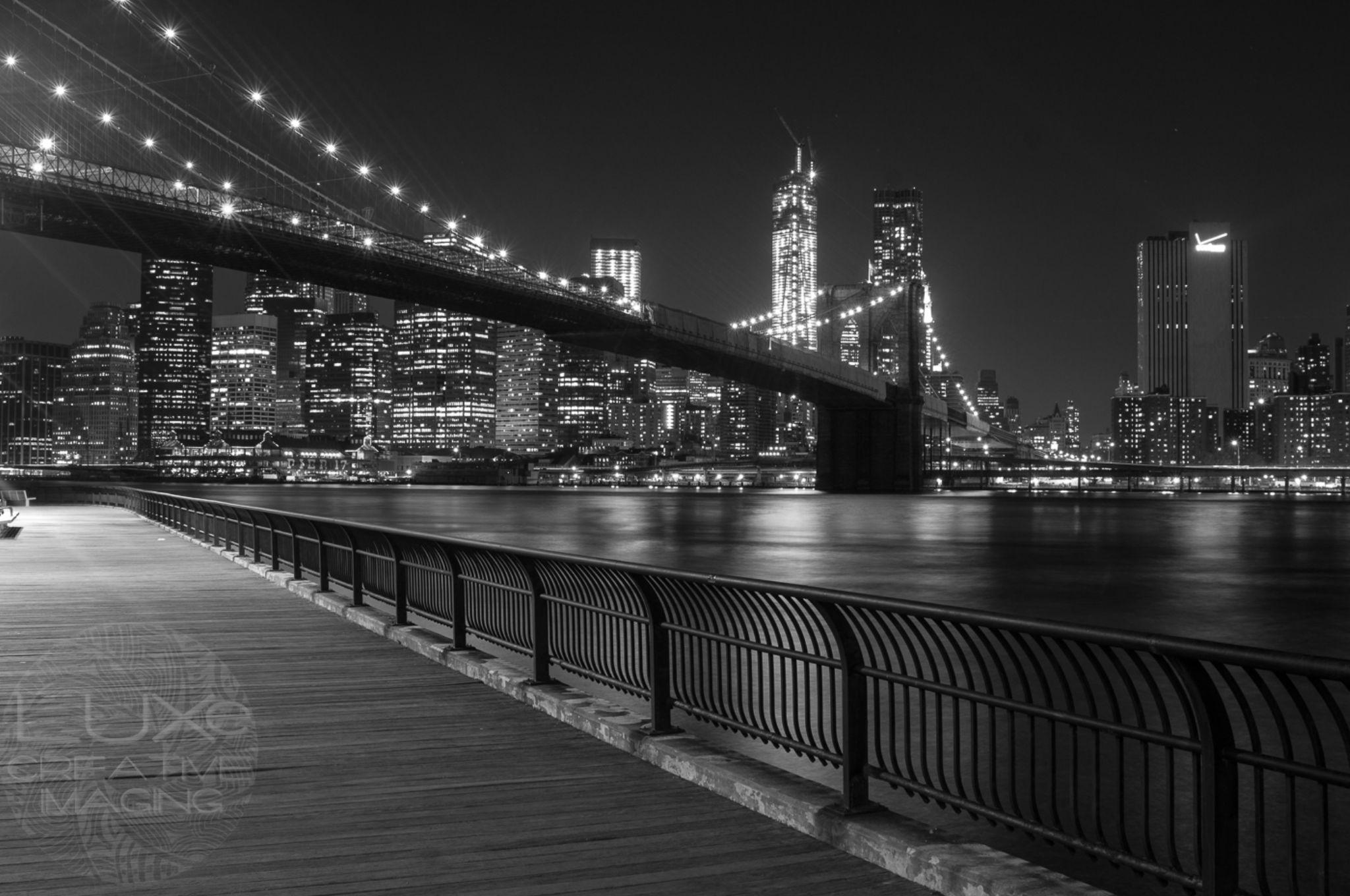 Bridge & City by George Pruitt